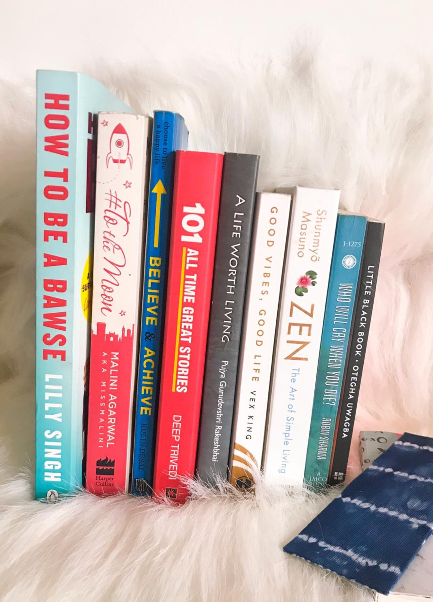 10 Inspirational Books on my bookshelf image