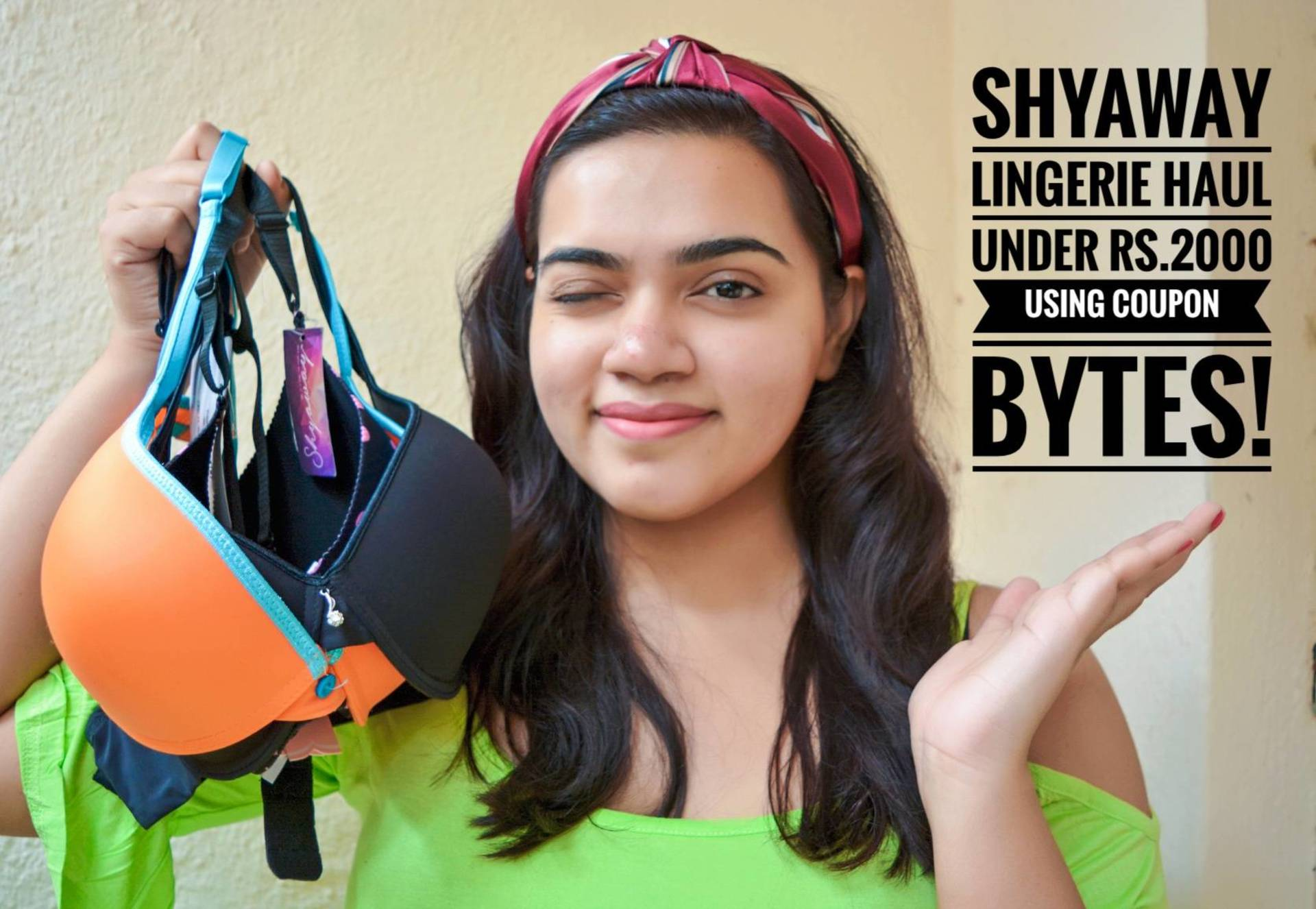 Shyaway Lingerie Haul under Rs.2000! image