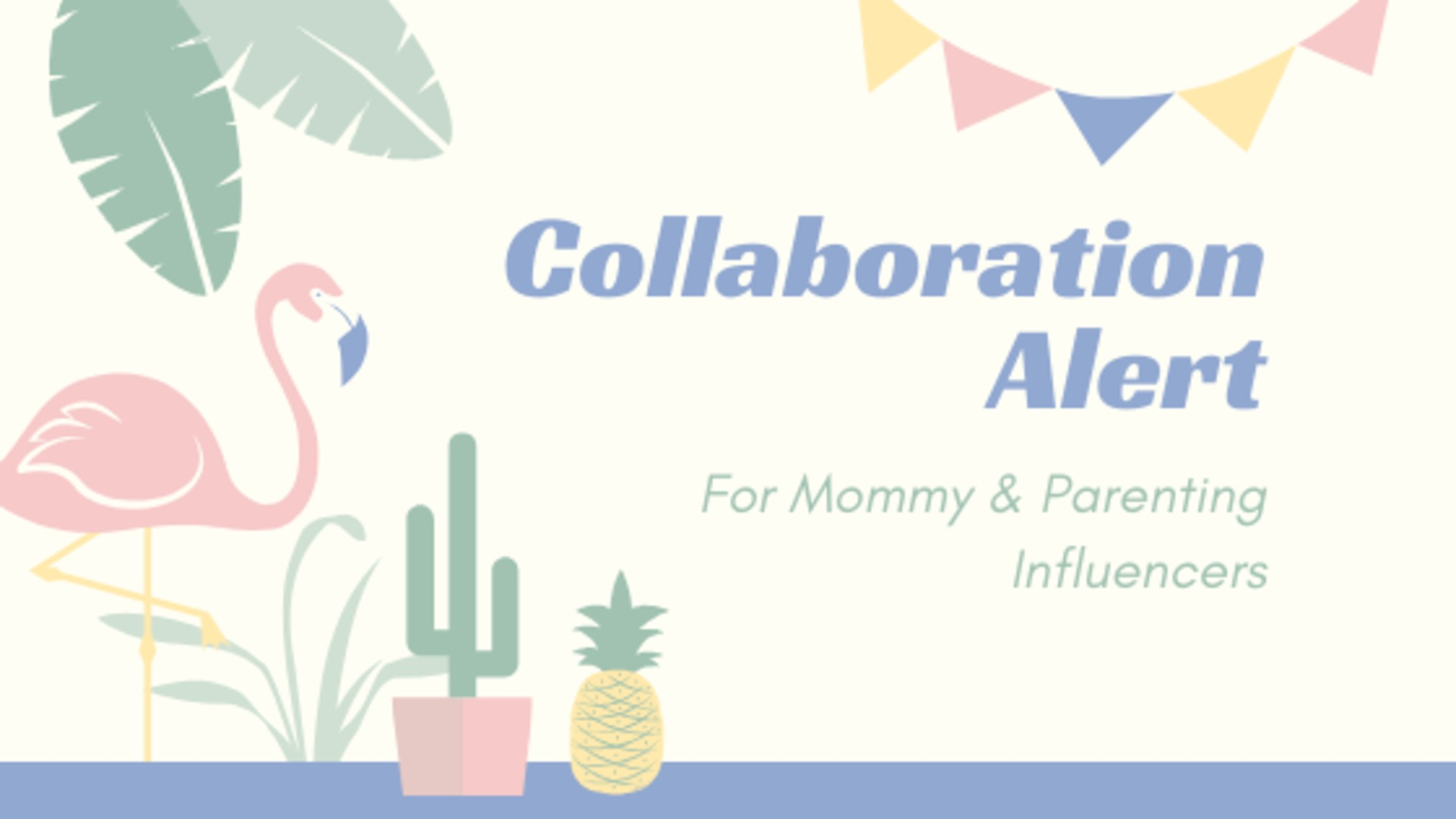 Collab Alert! For Mommy & Parenting Influencers image