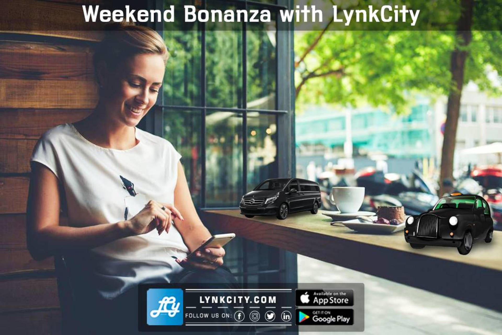 Weekend Bonanza with LynkCity. image