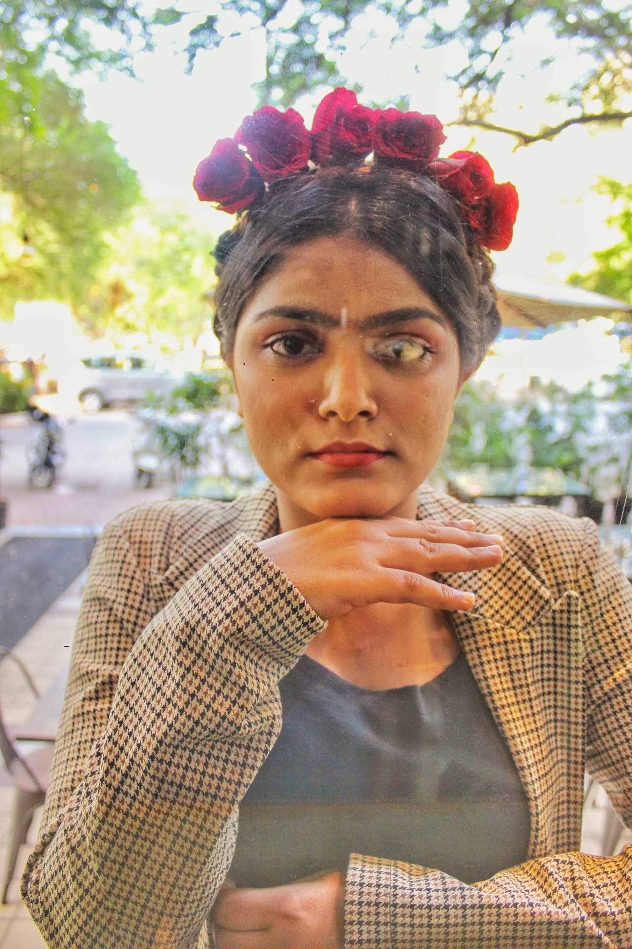 Winkl Blog - Afreen Khan as Frida Kahlo