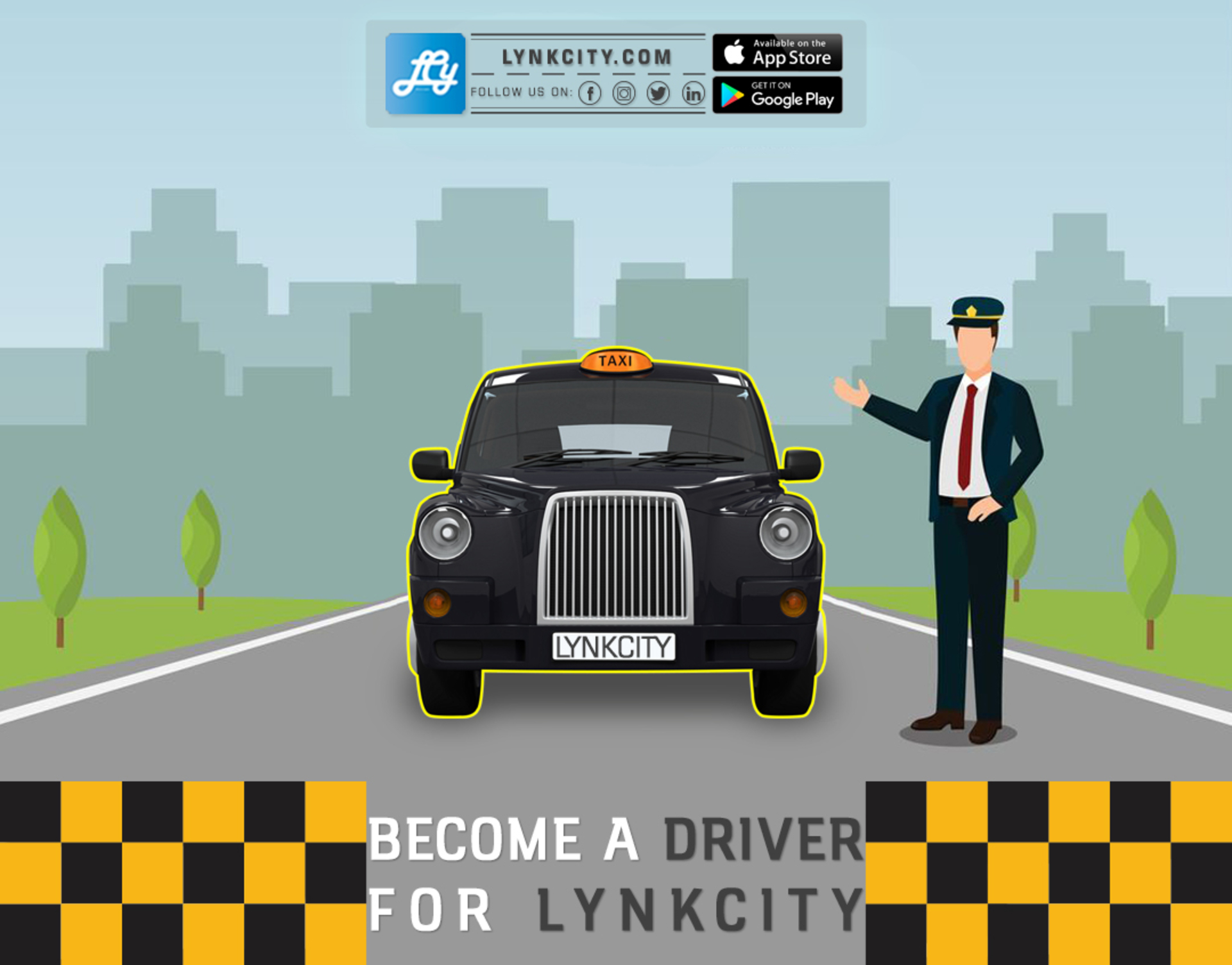 Become a Driver for LynkCity. image