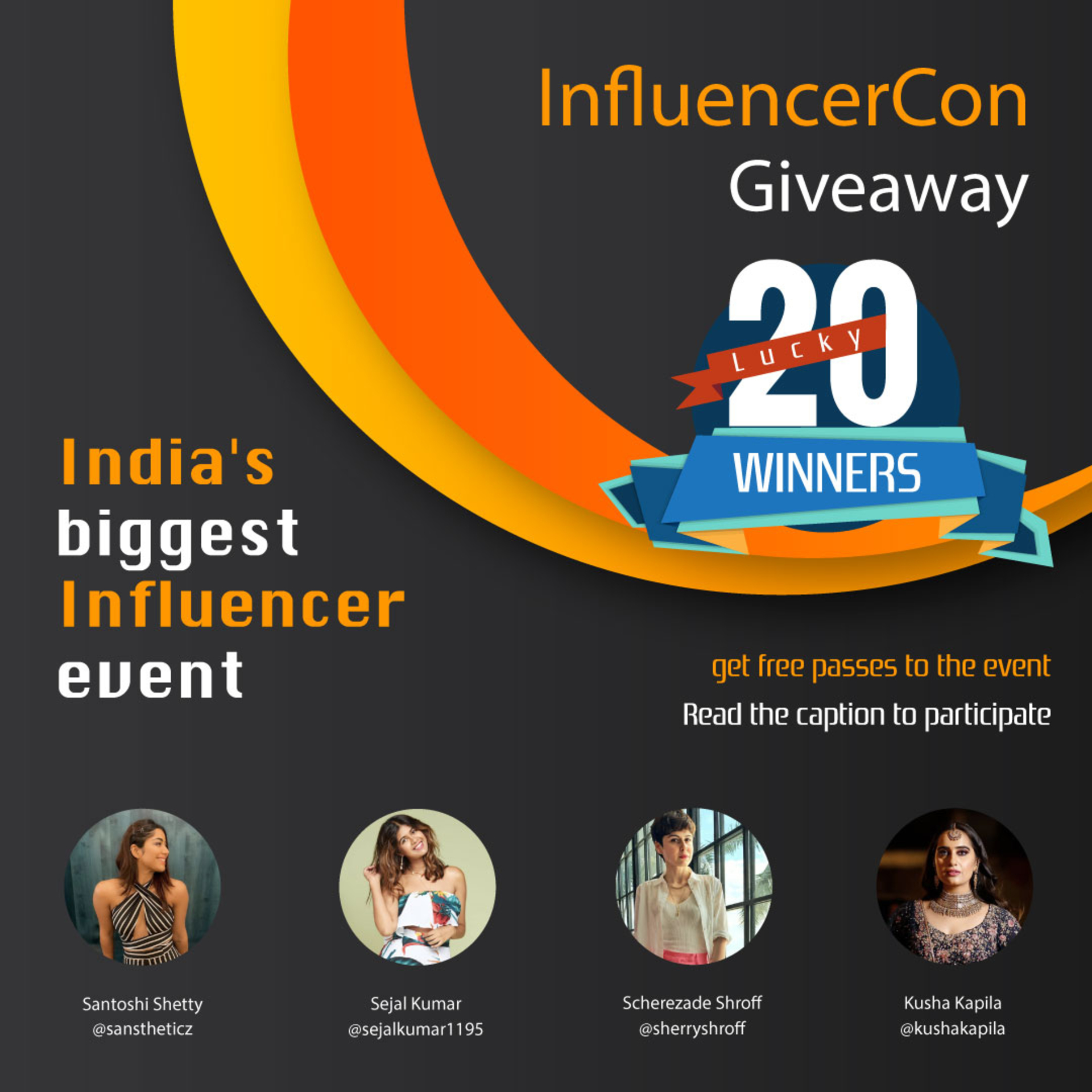 Giving Away 20 More Tickets - InfluencerCon 2019 image