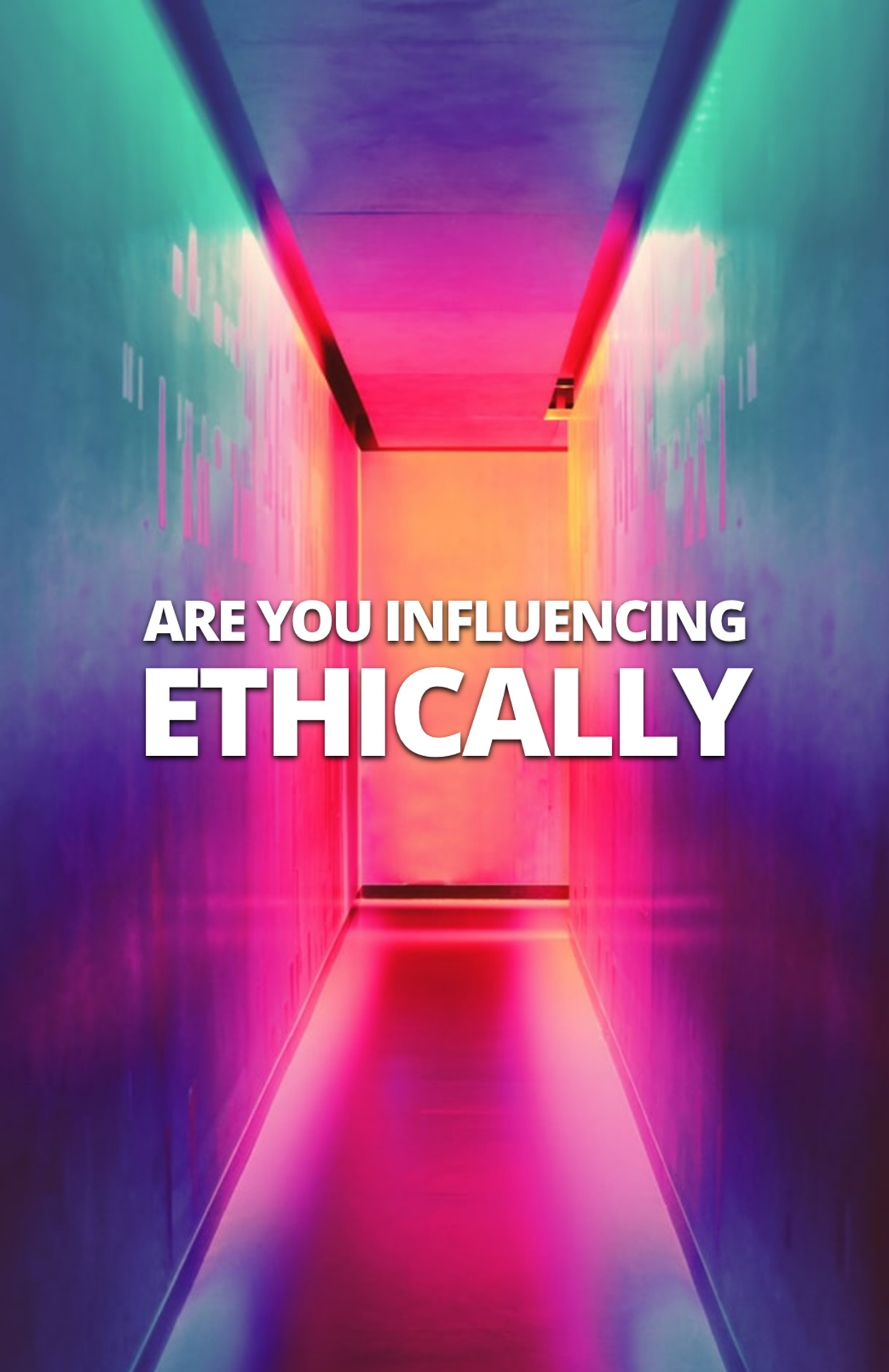 Are you influencing ethically? image