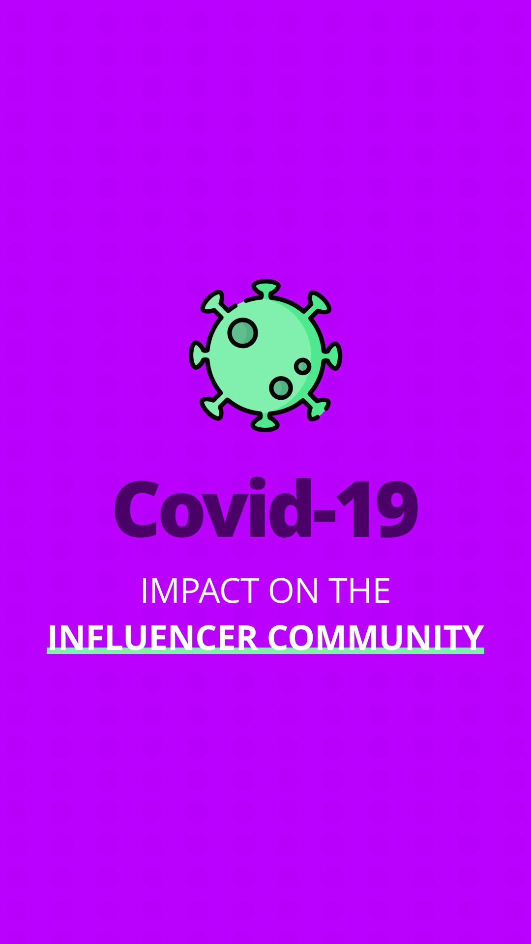 Covid - 19: There's some good news and bad news for the influencer community image