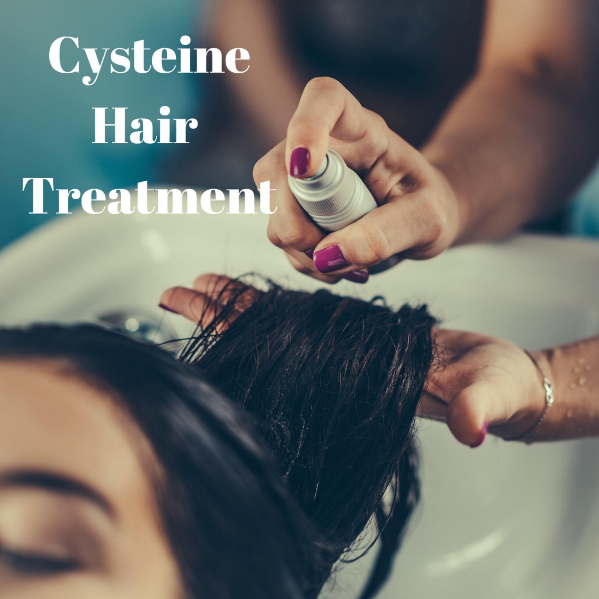 CYSTEINE HAIR TREATMENT image