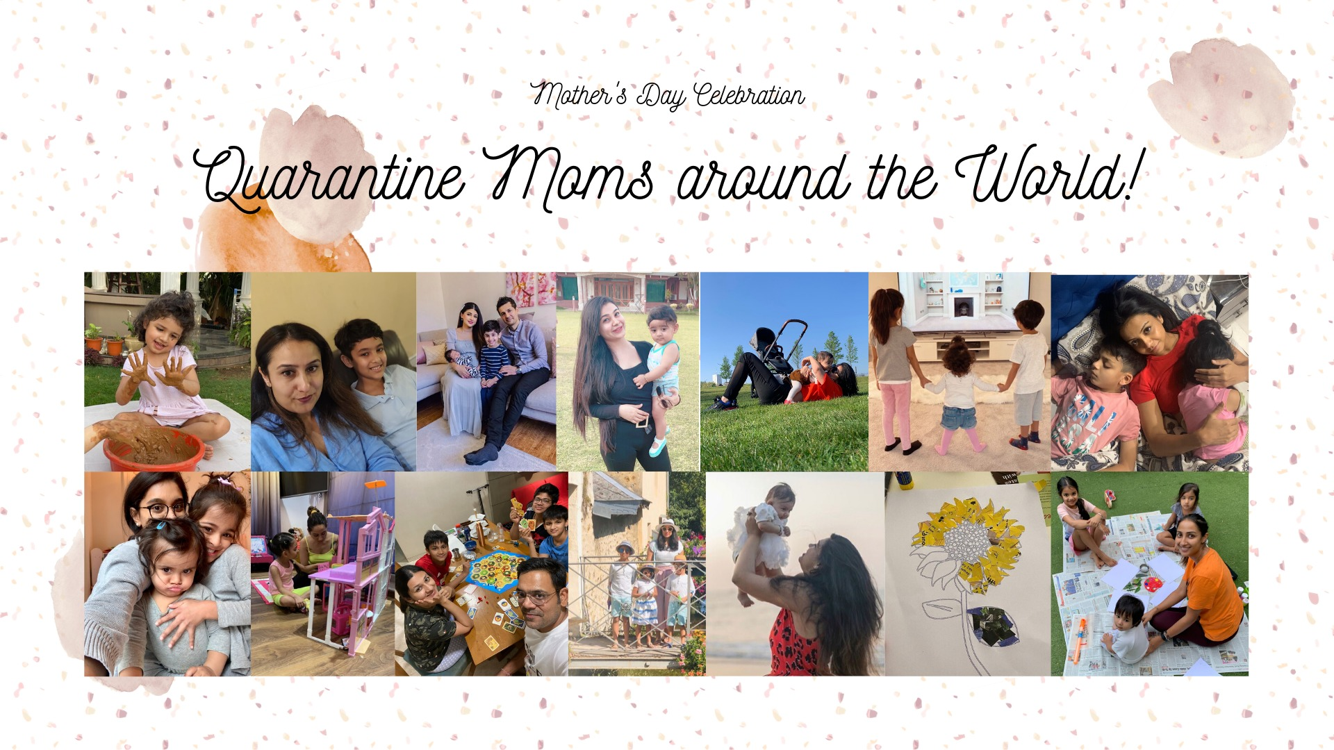 Mother's Day Special // Quarantine Moms around the World! image