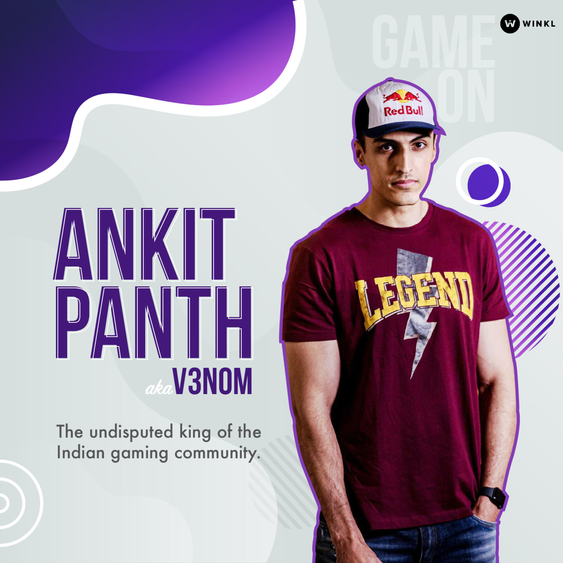 Ankit Panth - the undisputed king of the Indian gaming community image