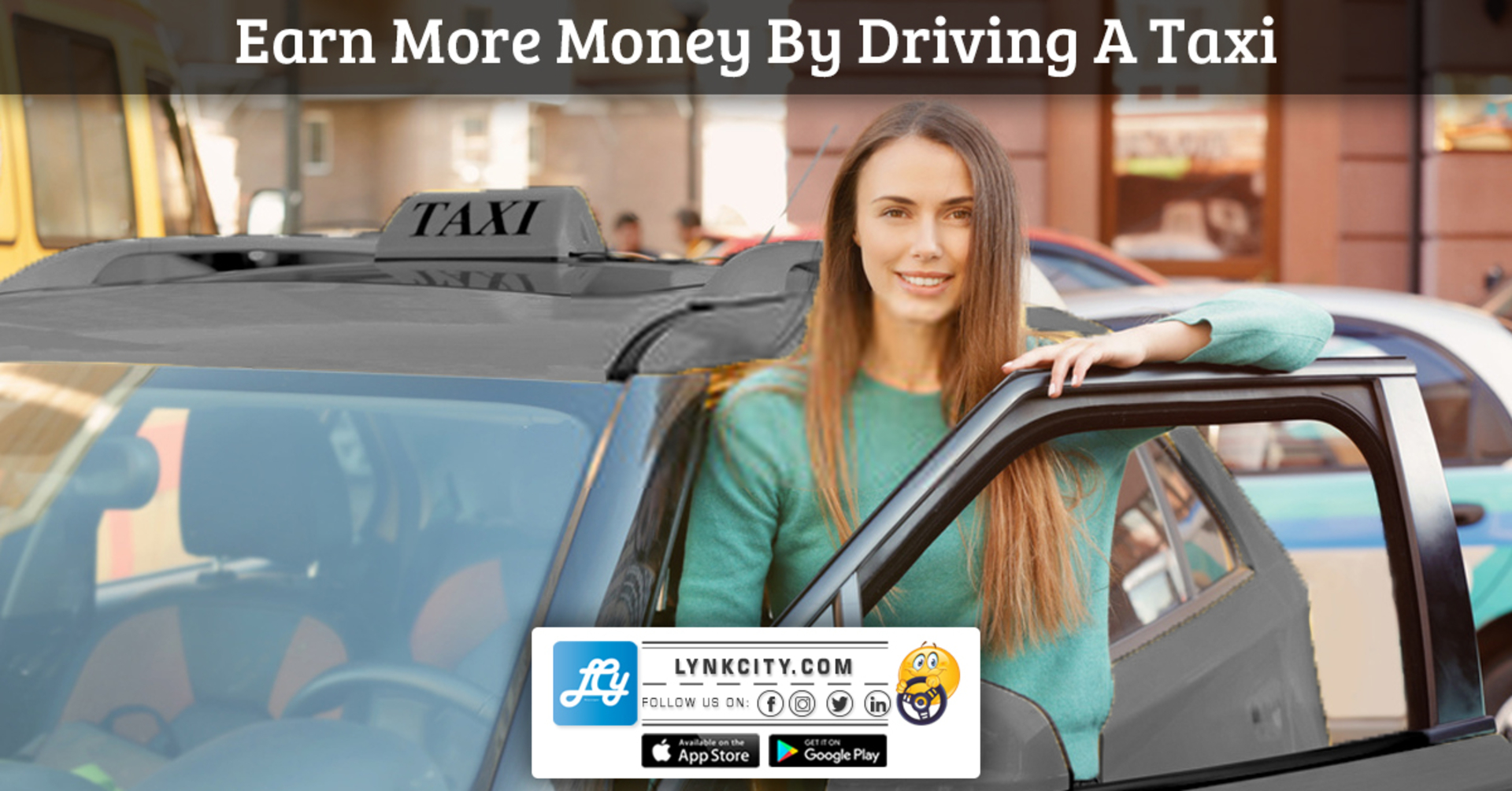 Earn More Money by Driving a Taxi image
