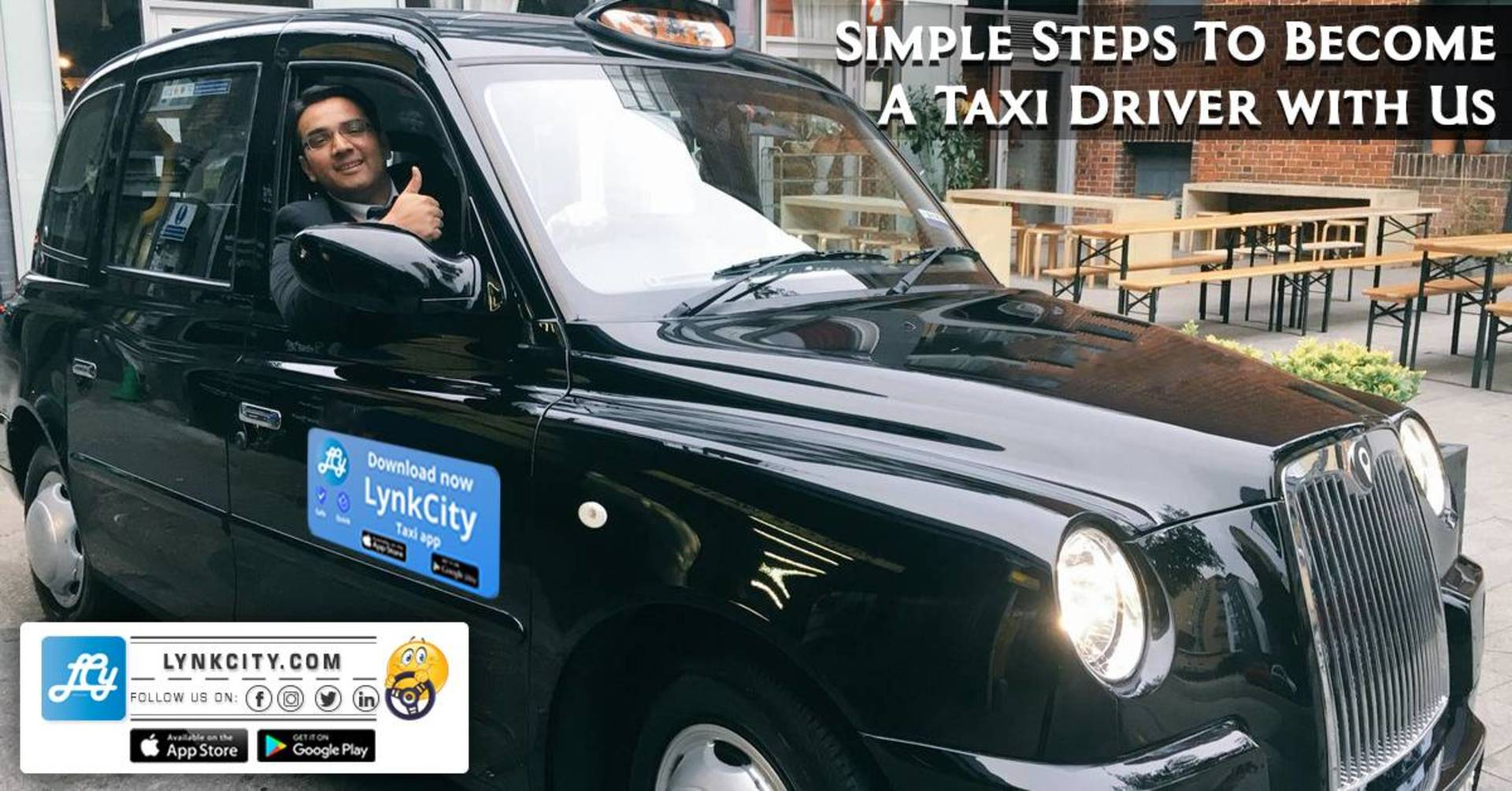 Simple Steps to Become a Taxi Driver with Us image