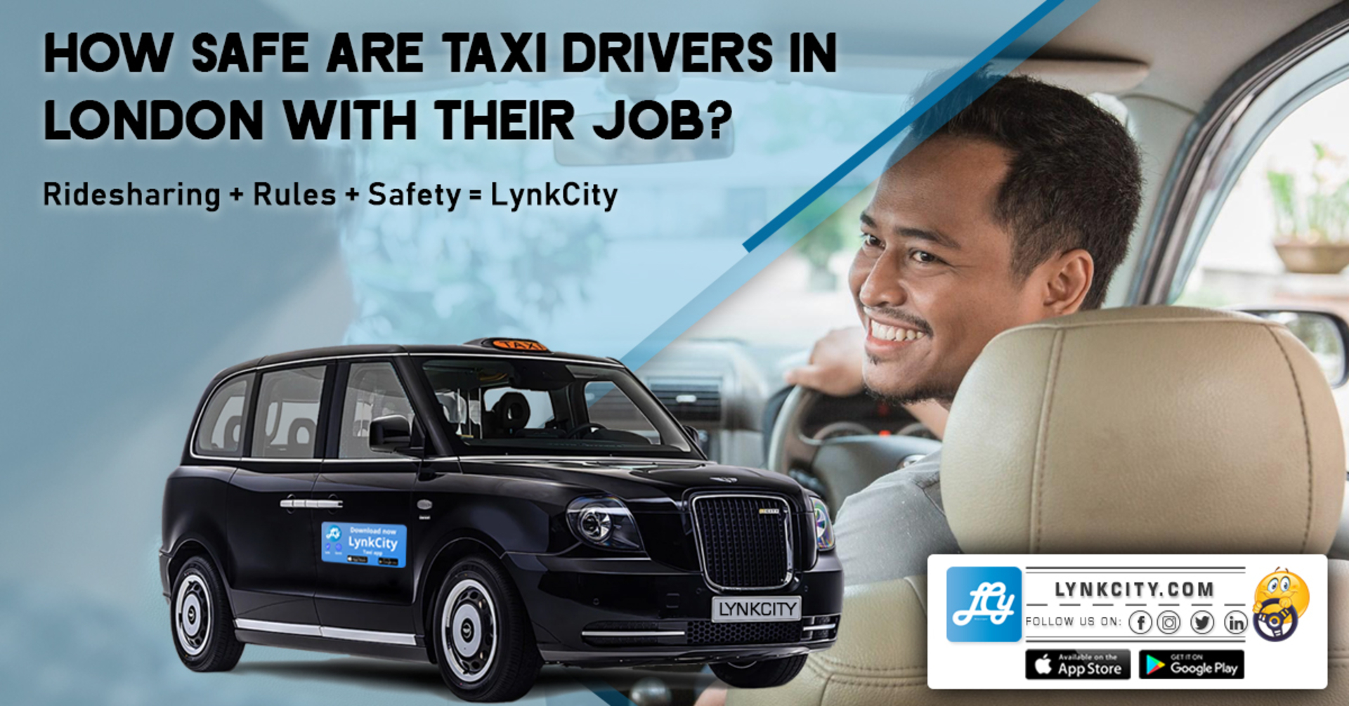 How Safe Are Taxi Drivers in London with Their Job? image