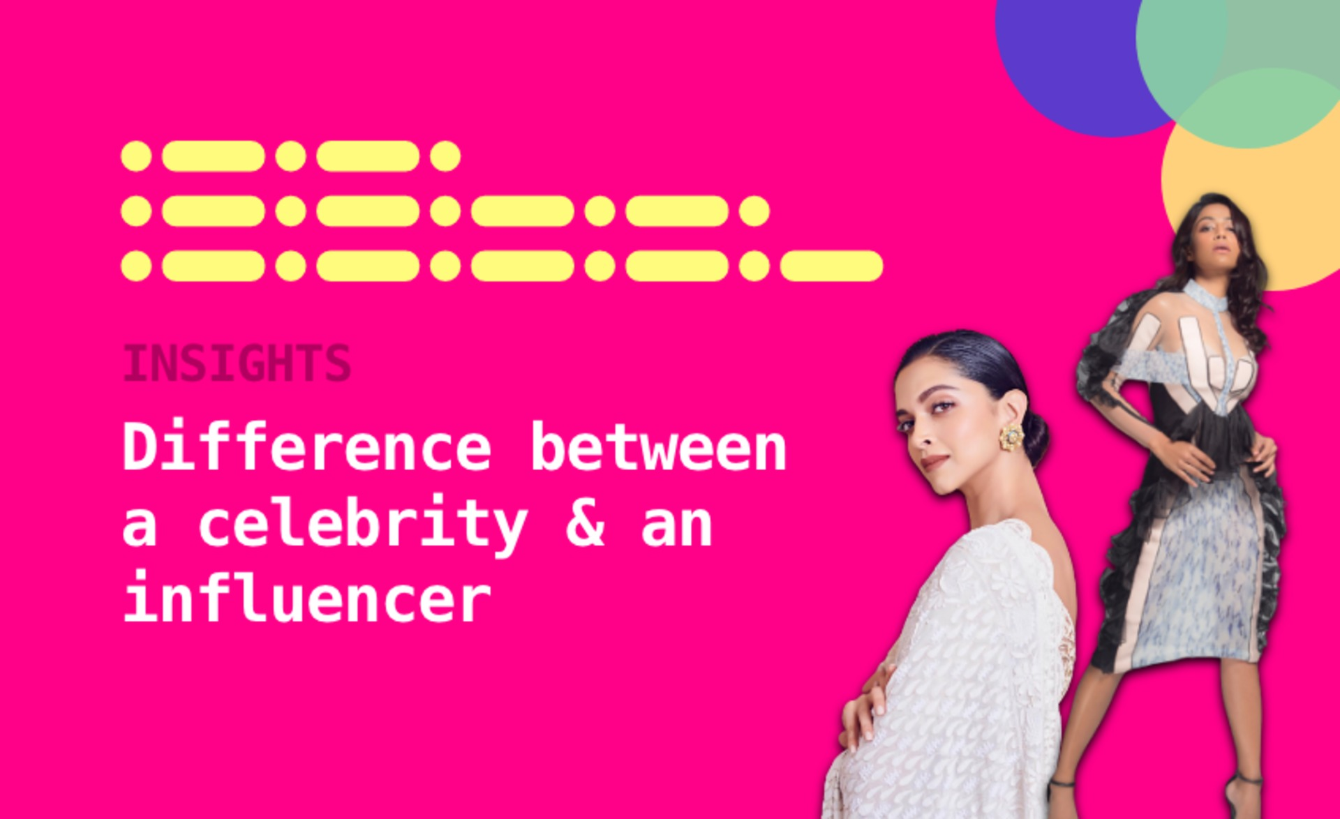 What is the real difference between a celebrity and an influencer? image