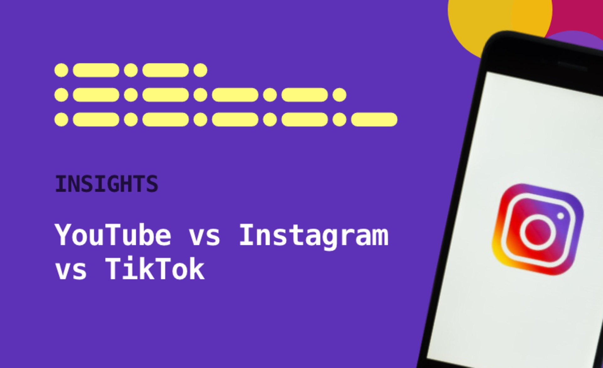 Instagram vs YouTube vs TikTok | How to pick one for your next influencer campaign? image