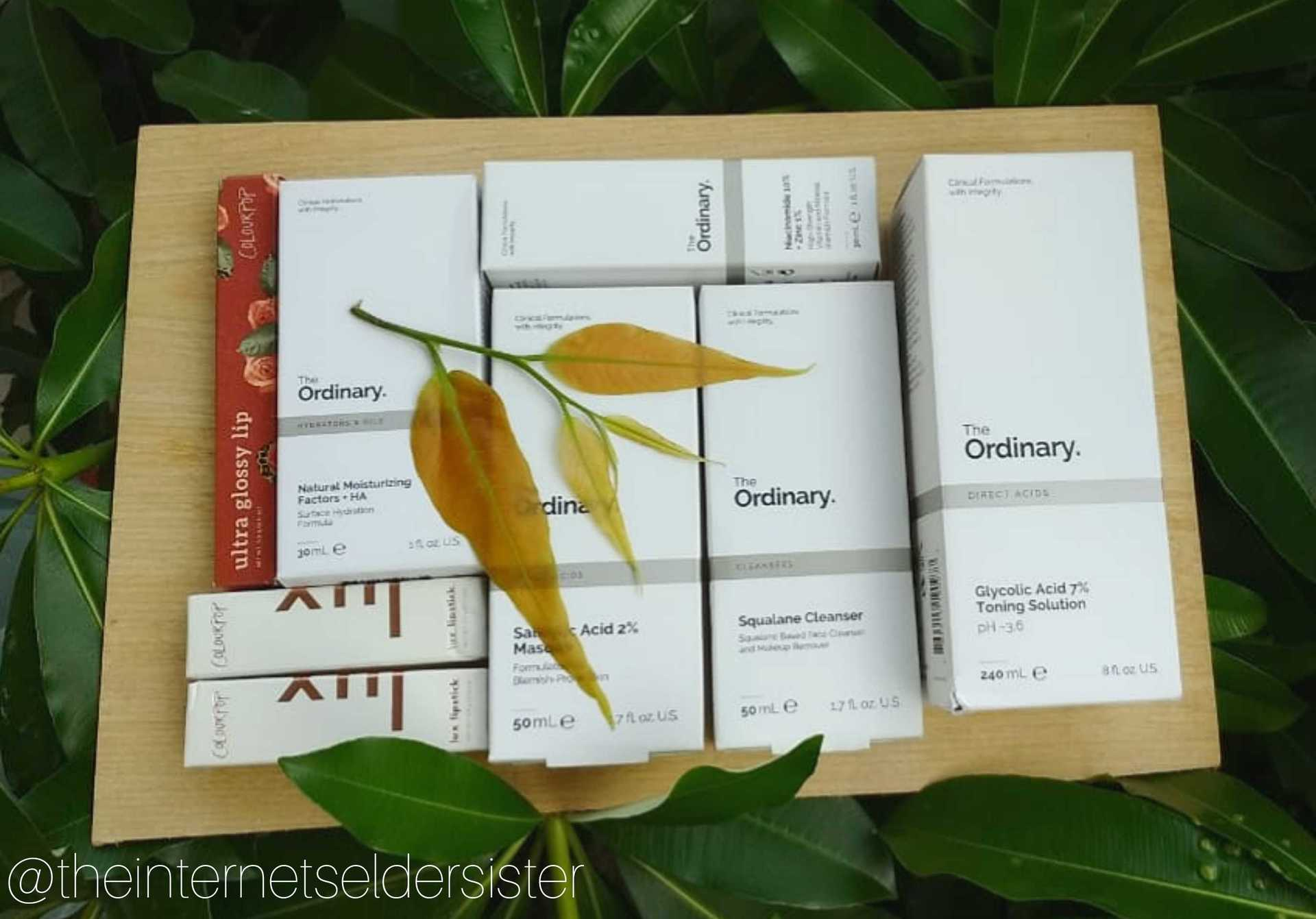 The ordinary skincare - part 1 image