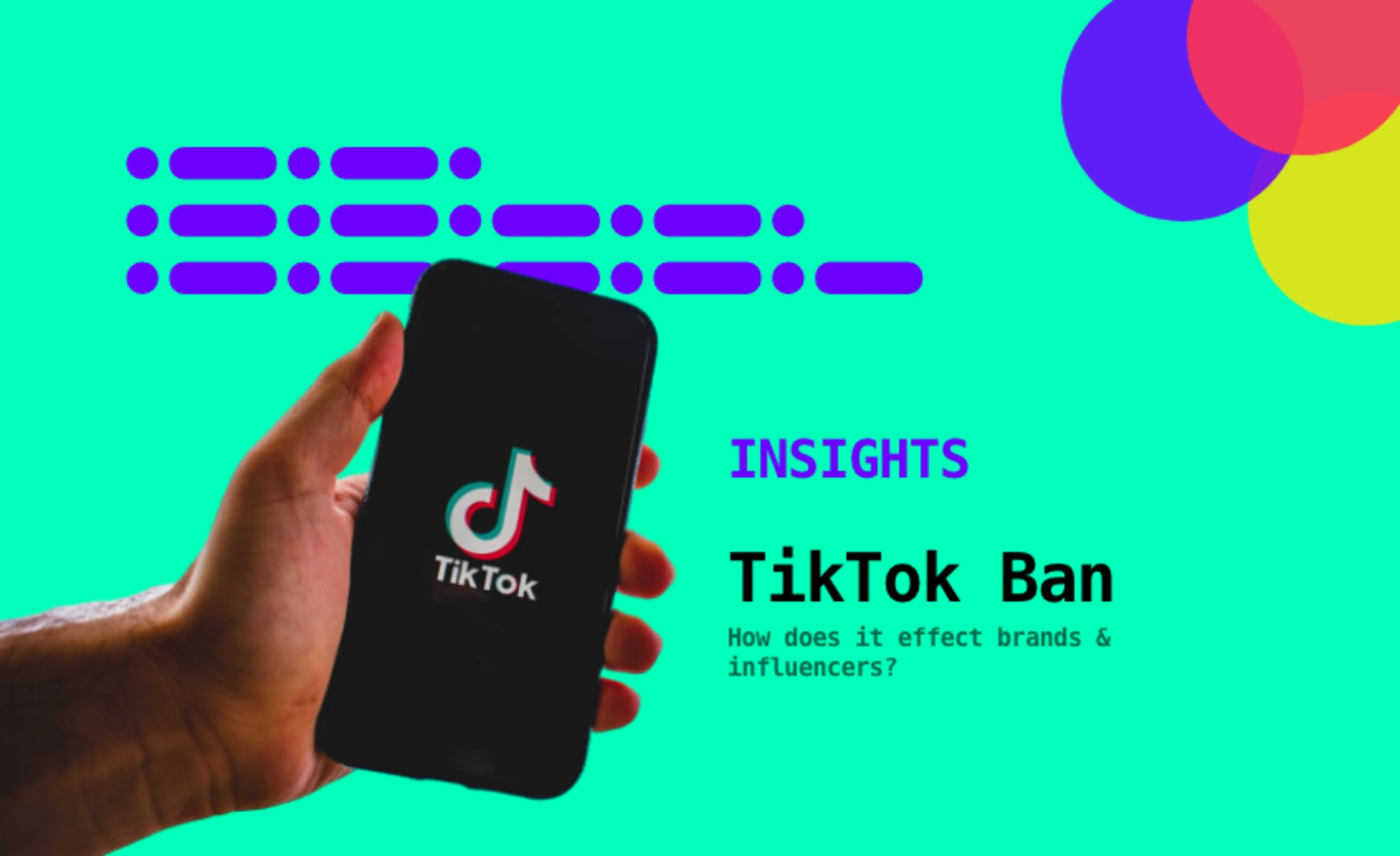 What the TikTok Ban Means for its Influencers, Creators & Brands image