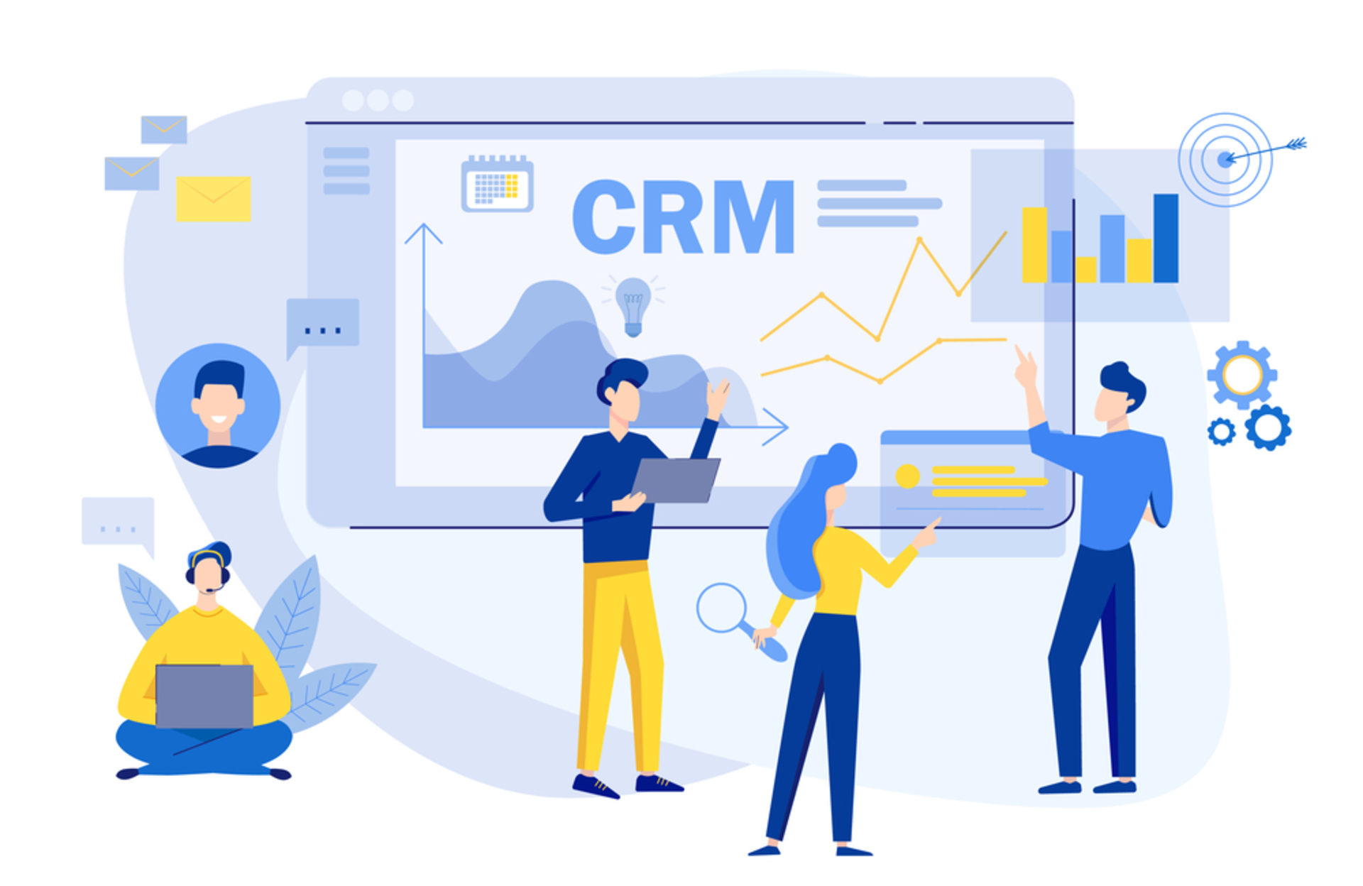 6 Features of a Great CRM System image