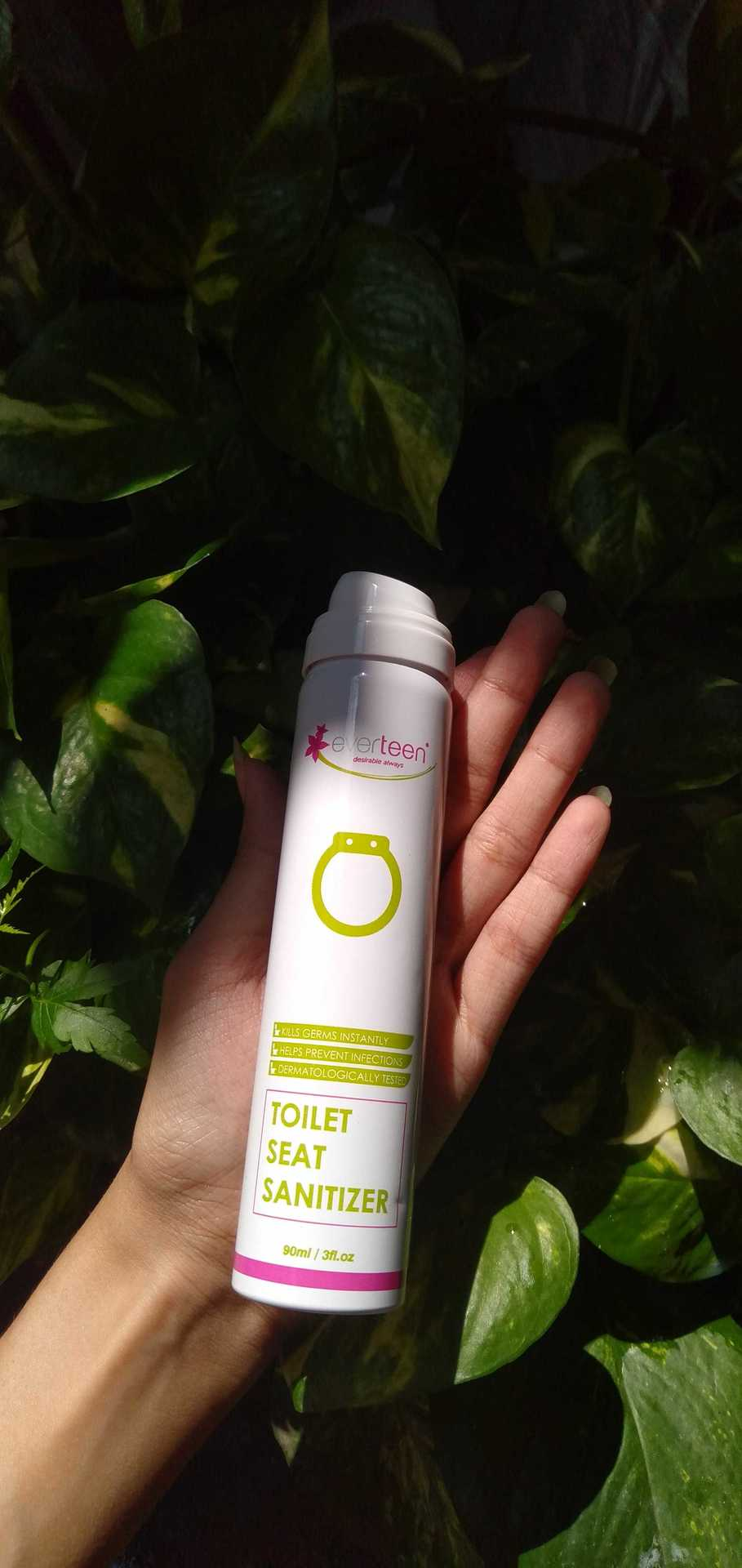 Everteen- Seat Sanitiser Spray image