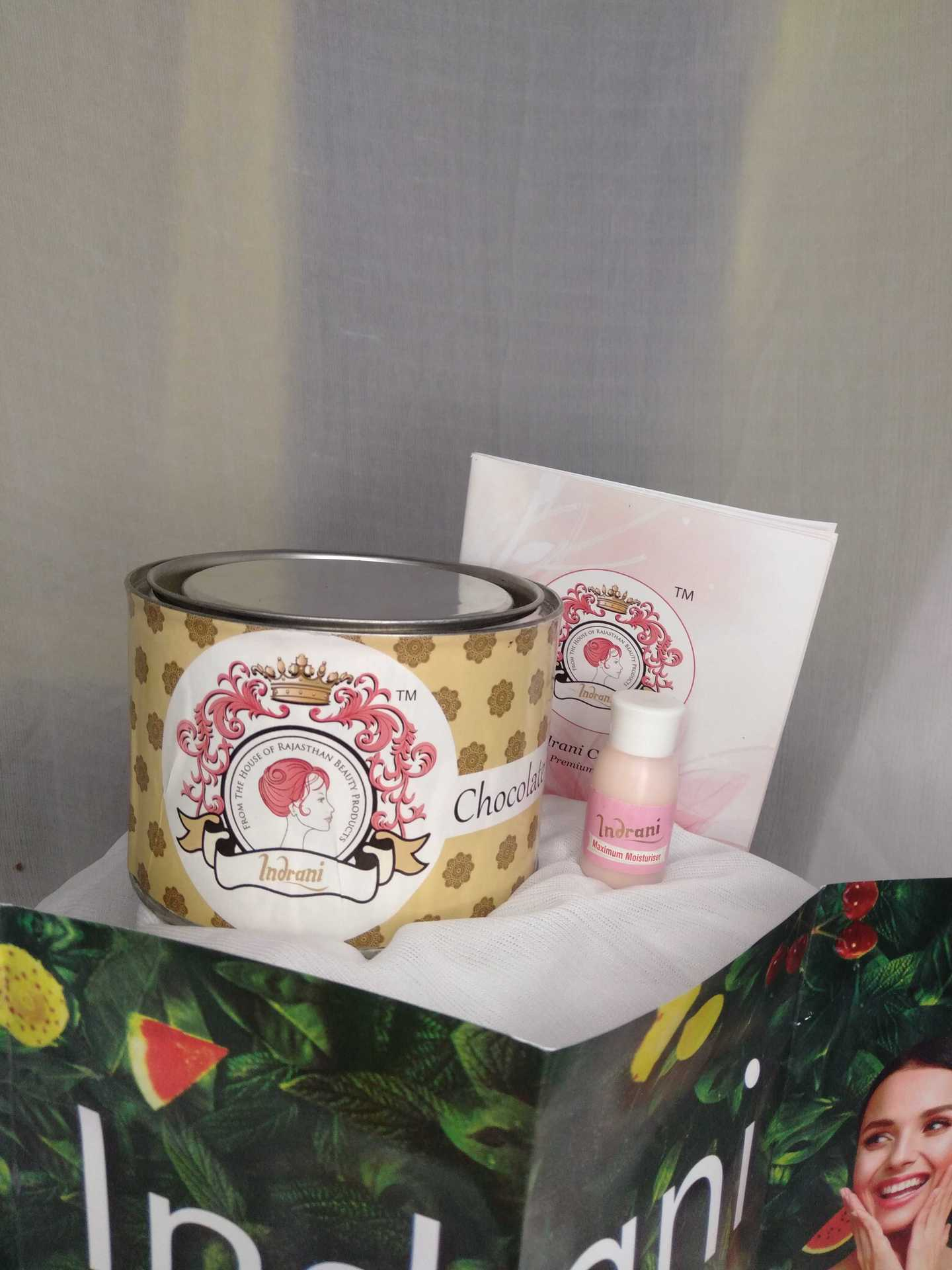 Choclate wax Review- Indrani Cosmetics image