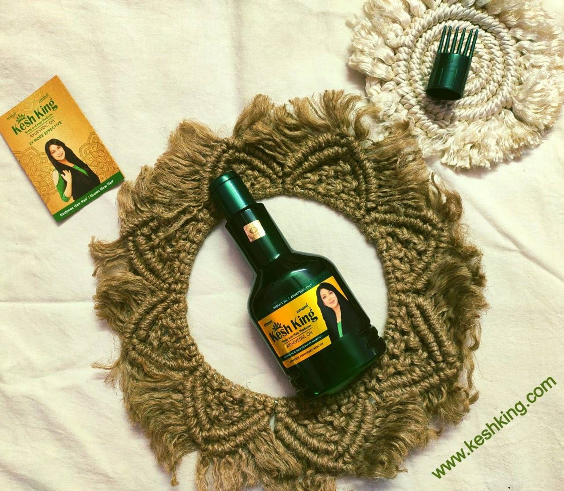 Emami Kesh King Hair Oil Review + Tips to Control Hair fall image