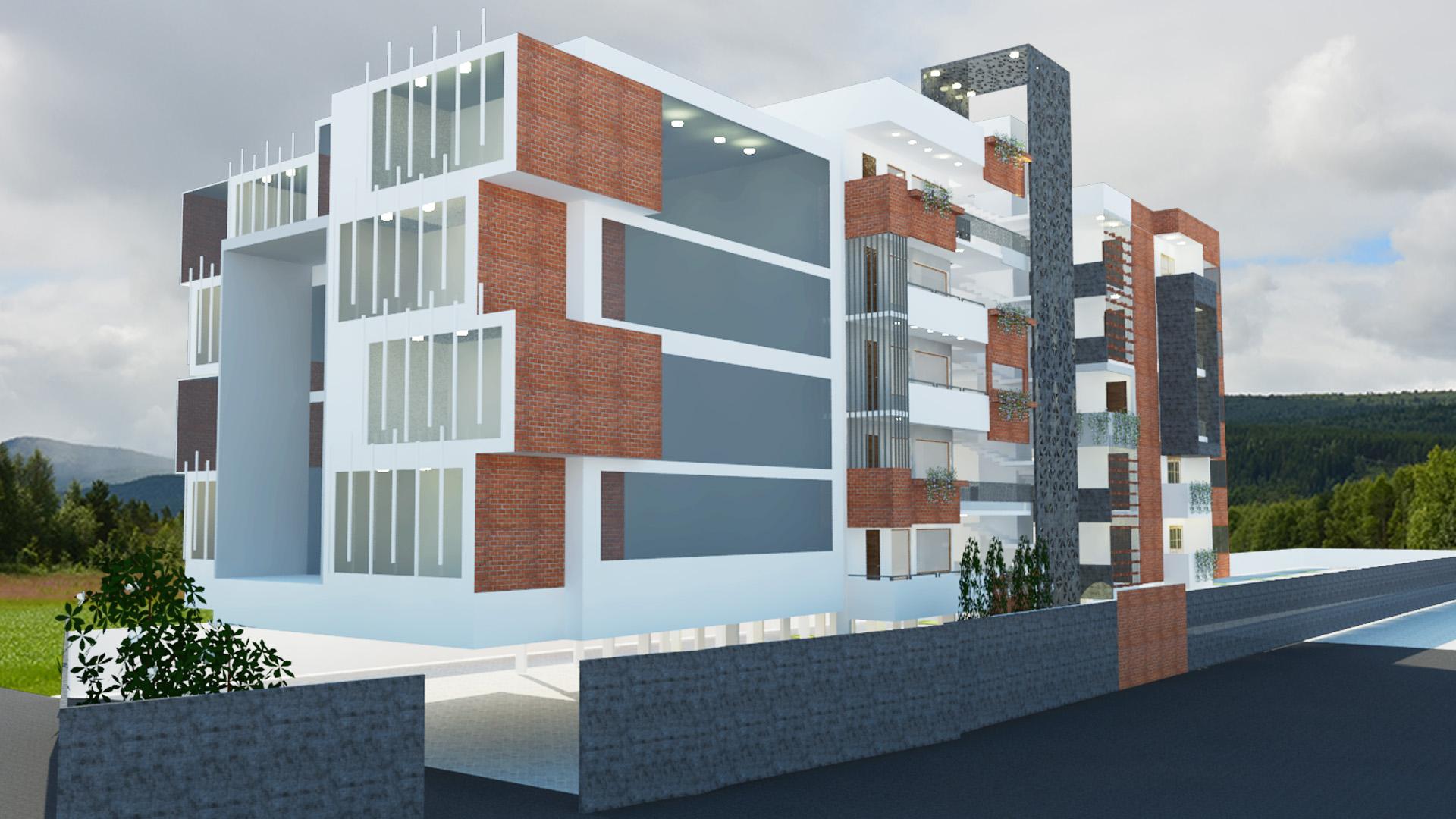 Apartment design - Bellary image