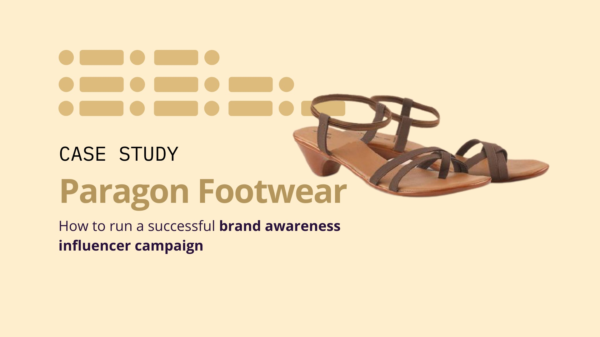 Paragon Footwear: How to run a successful brand awareness influencer campaign image