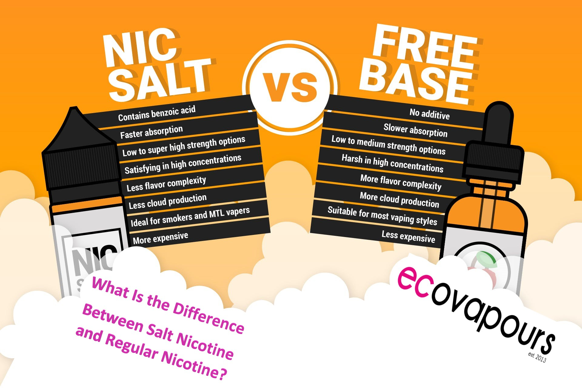 What Is the Difference Between Salt Nicotine and Regular Nicotine? image