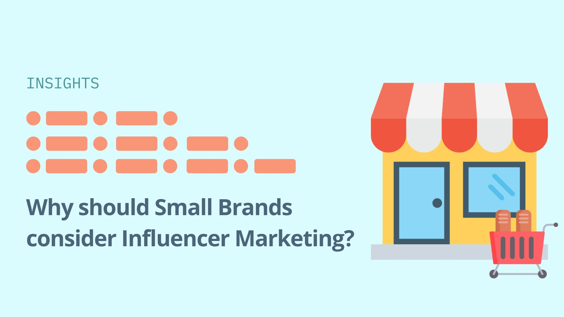 Why should small brands consider influencer marketing? image