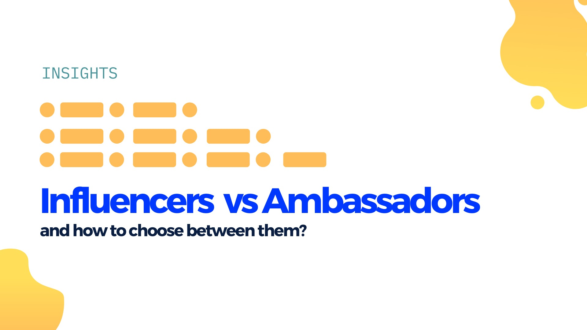 What is the difference between an influencer and brand ambassador image