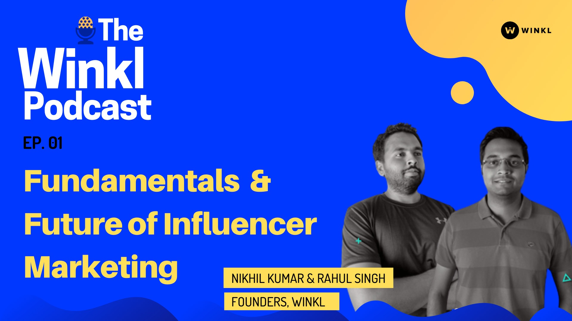 The Winkl Podcast - India's only influencer marketing podcast image