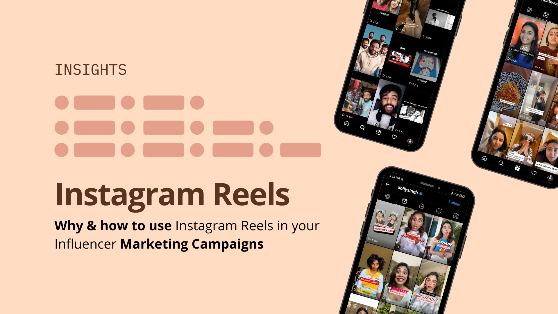Why use Instagram Reels in your Influencer Marketing Campaigns? image