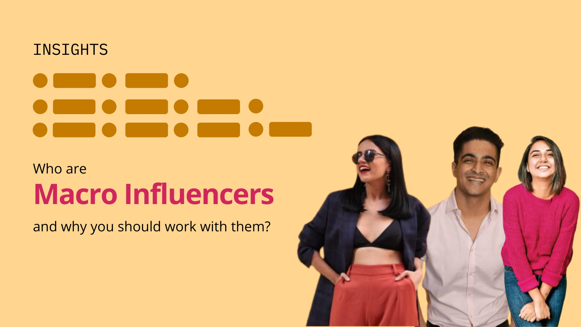 Working with Macro-Influencers - blog by Winkl (An influencer marketing platform)