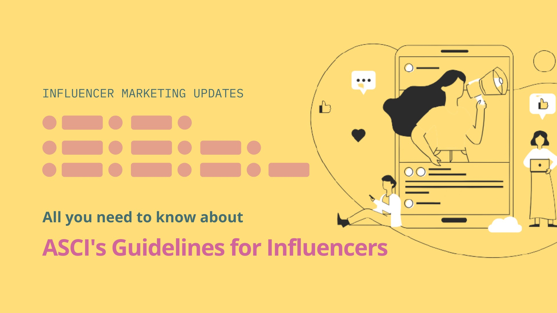All you need to know about ASCI's guidelines for influencers - blog by Winkl (An influencer marketing platform)
