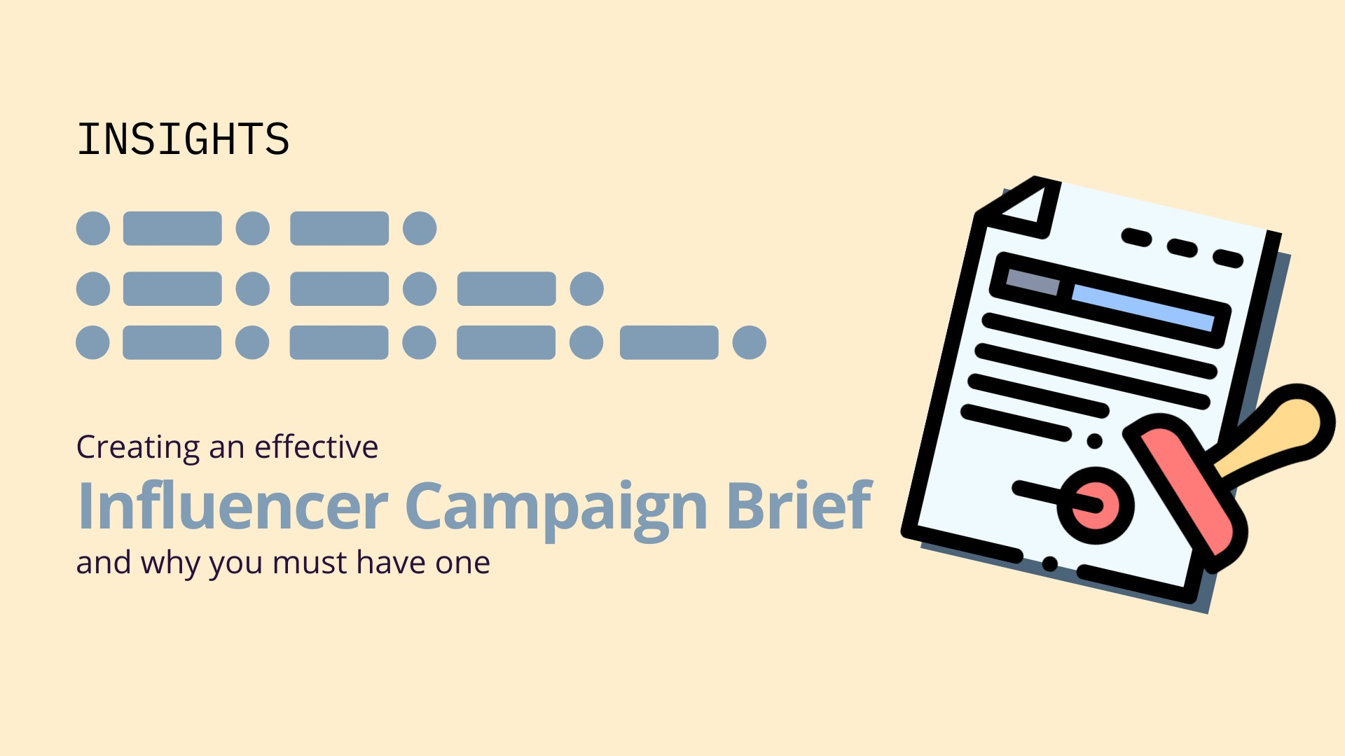 Creating An Effective Campaign Brief image