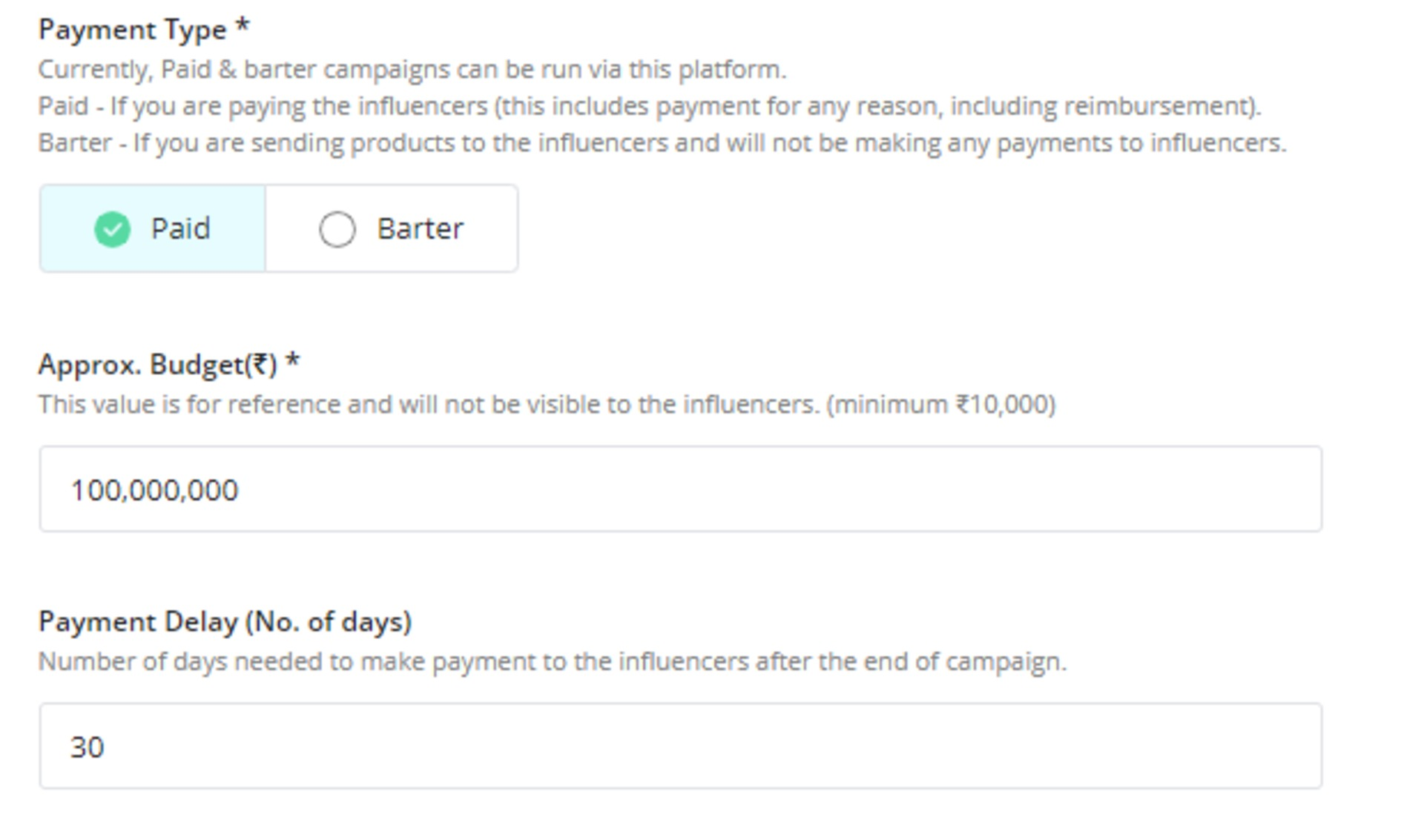Winkl on Influencer Marketing - about the campaign