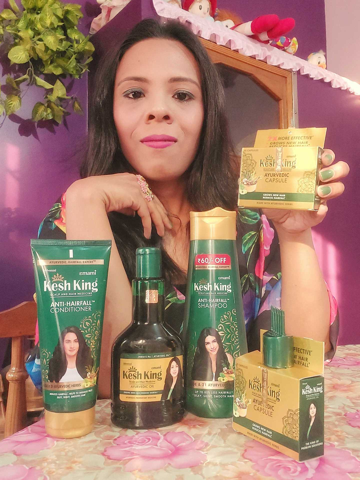 A FULL RANGE OF HAIR PRODUCTS FROM KESH KING CAME AS A BLESSING FOR ME  image