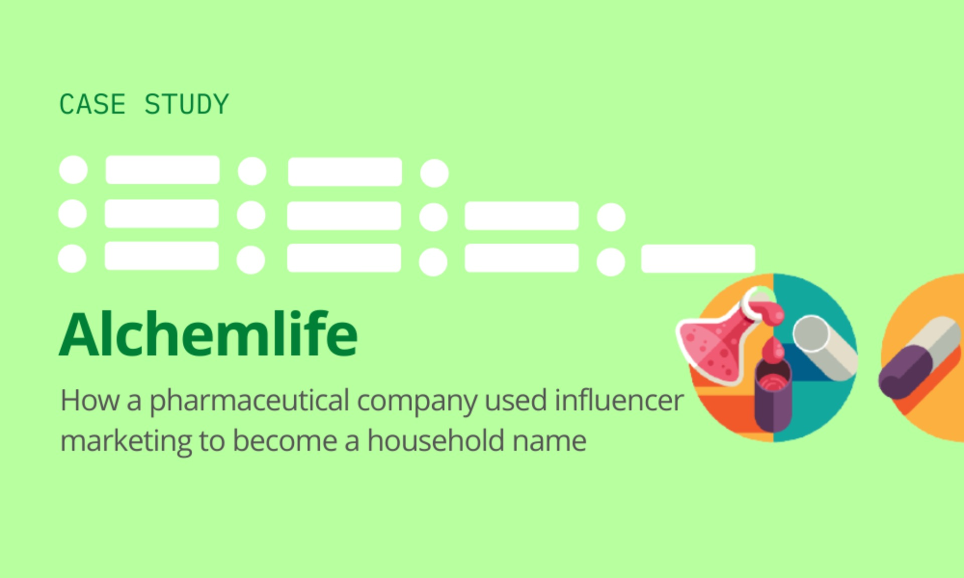 Alchemlife: How a pharmaceutical company used influencer marketing to become a household name image