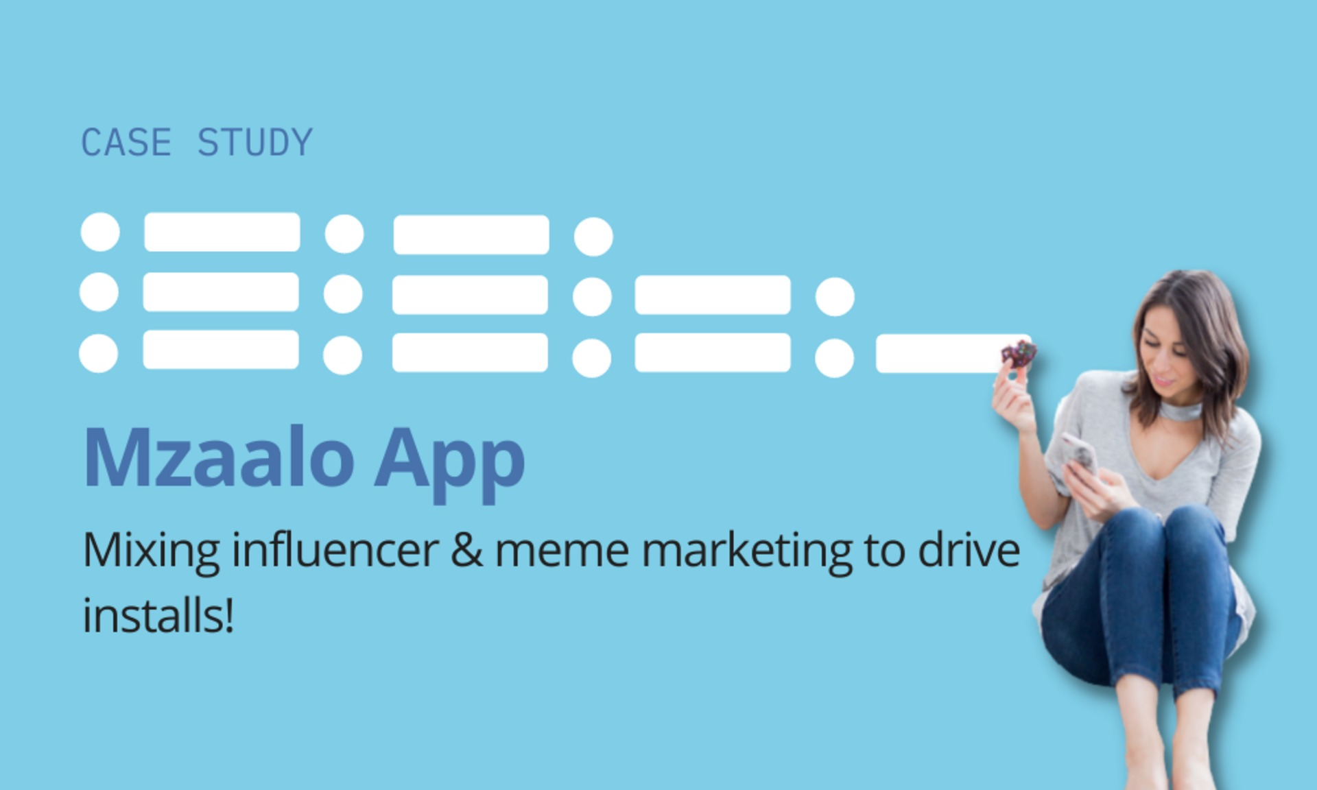 Mzaalo: Mixing influencer & meme marketing to drive installs! image