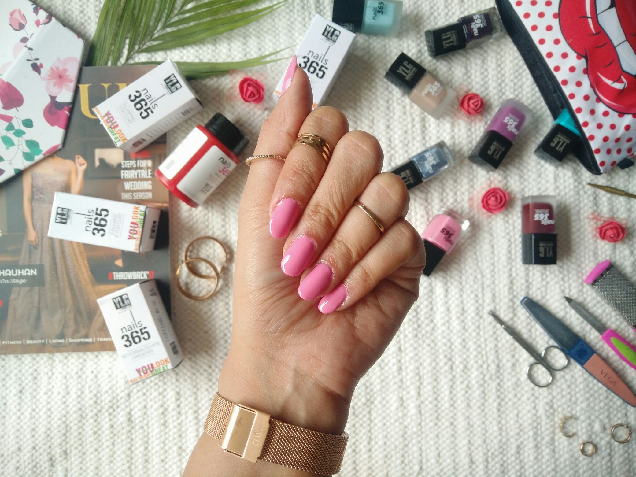 Puja Chopra | The Style Paradox -How I Do My Nails ft. YLG