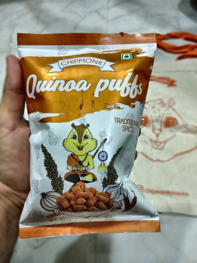 theimperfectblend-Chipmonk Quinoa Health Snack