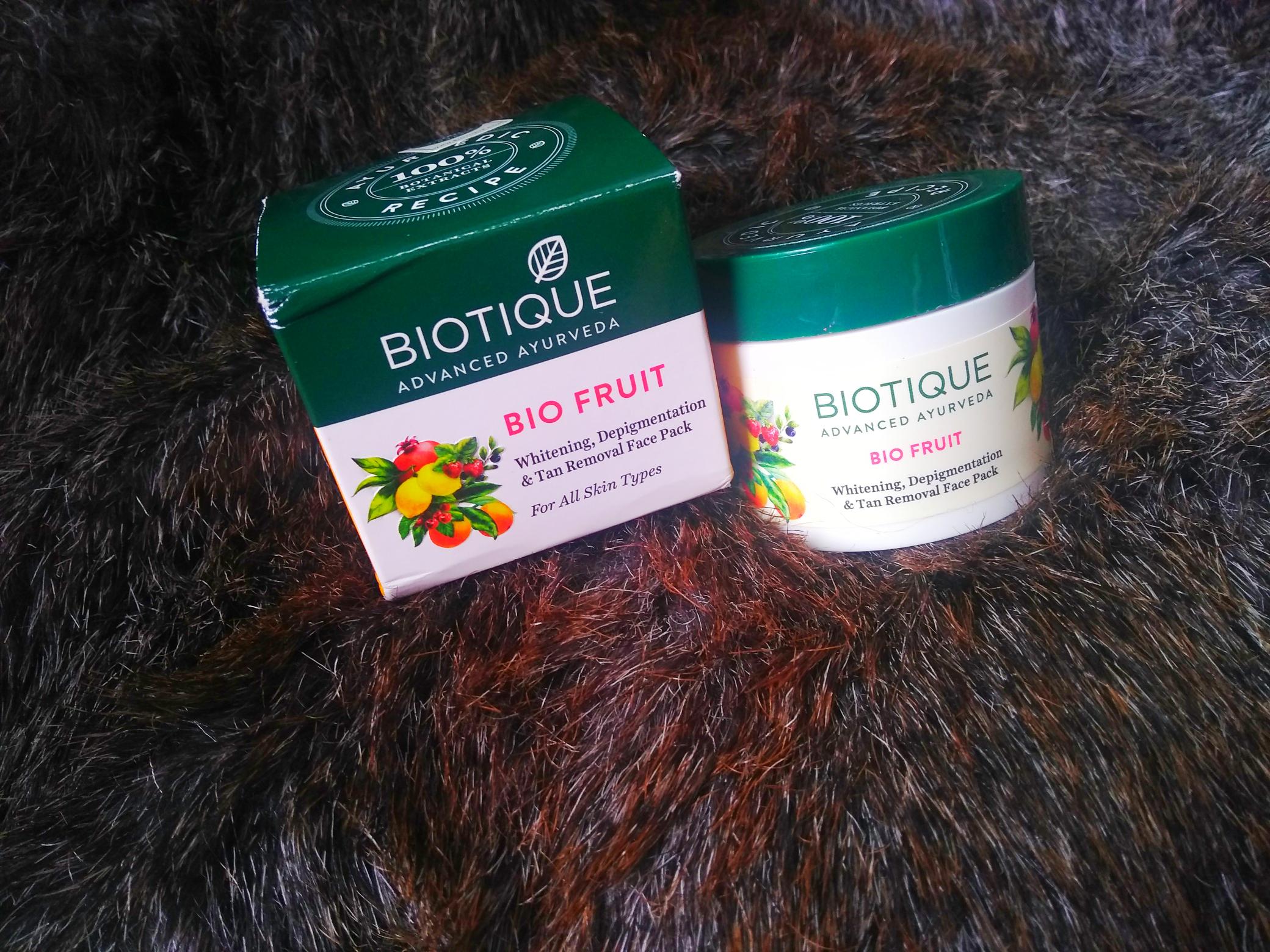 The Bay Bomb-Biotique bio fruit- review