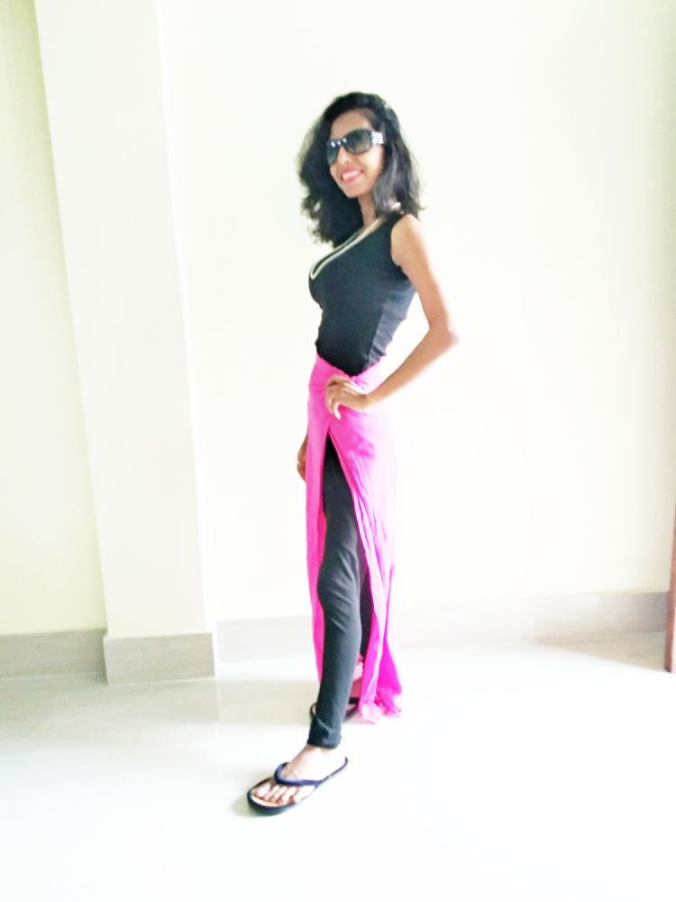 allboutfashion-Creation of a new style from dupatta