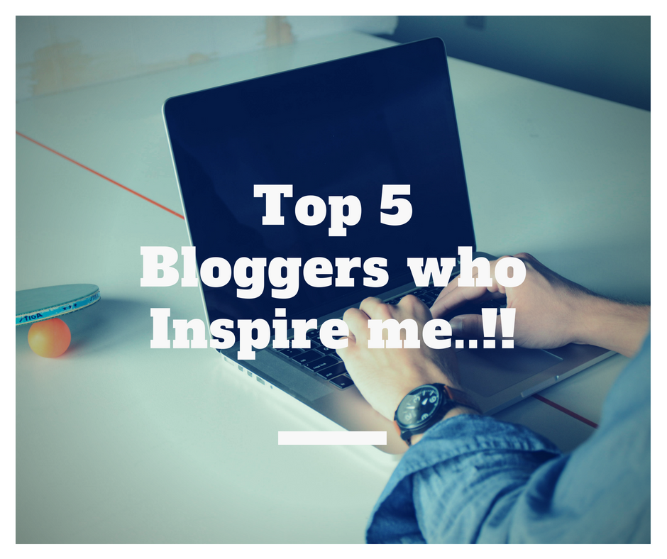 TheLipztickaholicDiaries -Top 5 Bloggers who Inspire me..!!