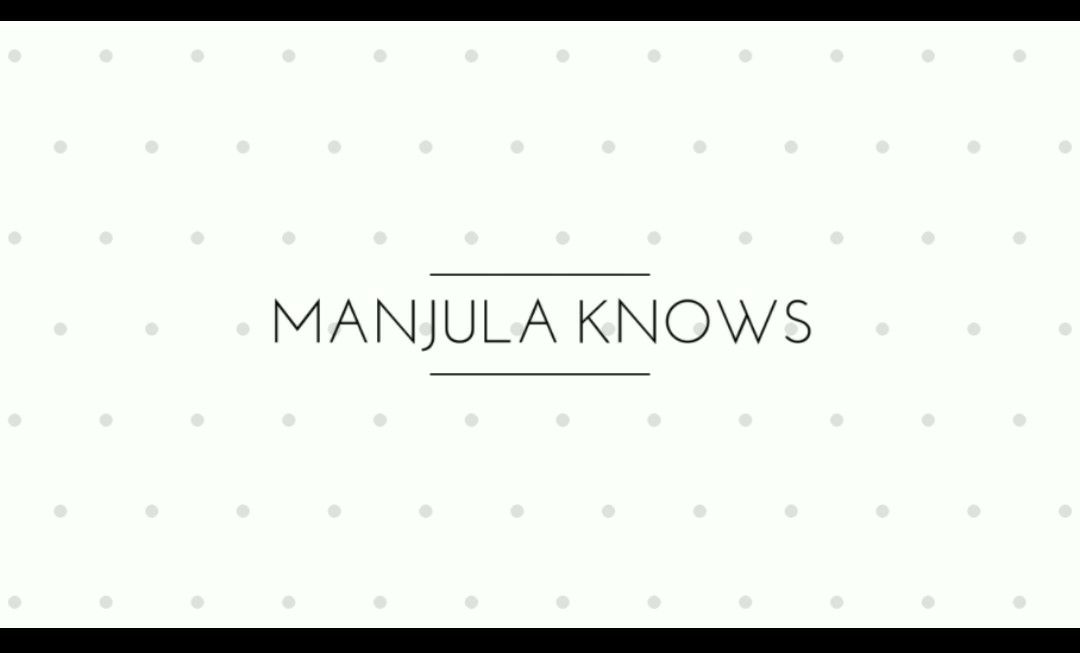 Manjula-knows Cover image
