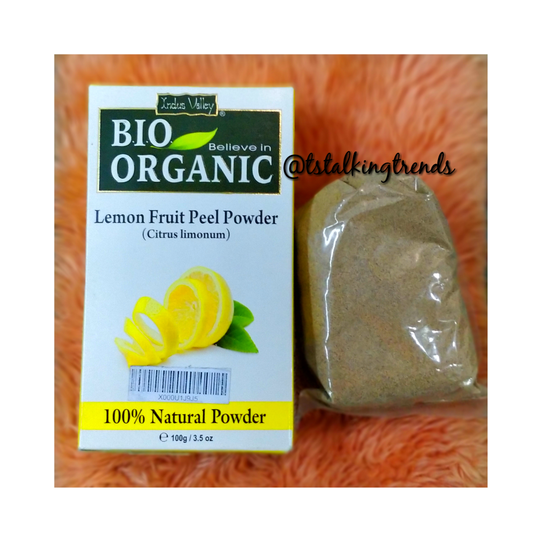 Lemon Fruit Peel Powder by Indus Valley image