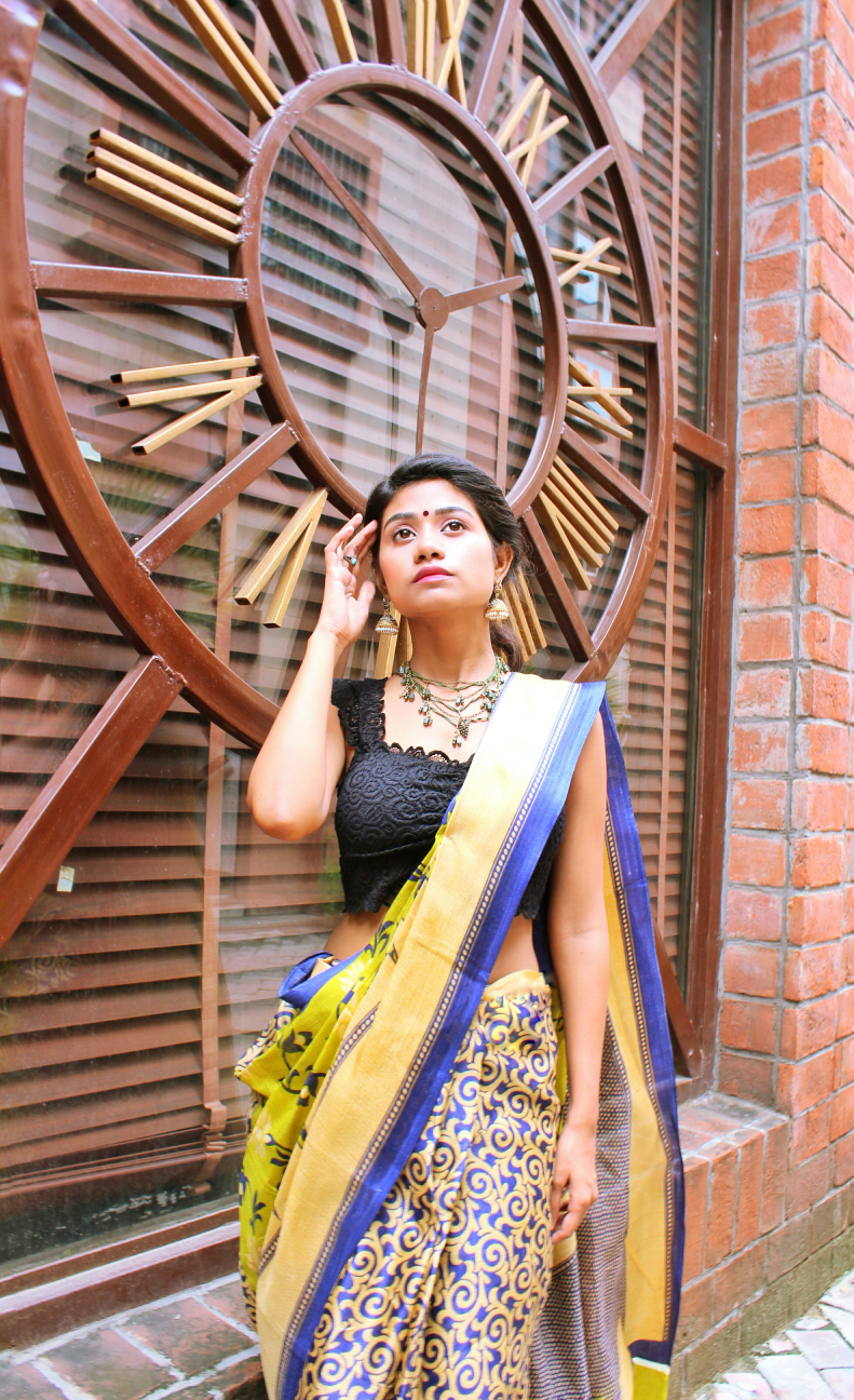 Style Your Saree||| Drashti Dhami's Lookbook image