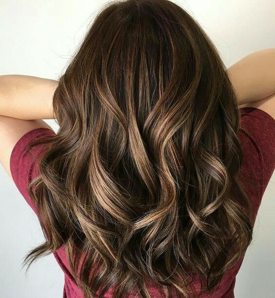 Hair color ideas for Indian skintone image