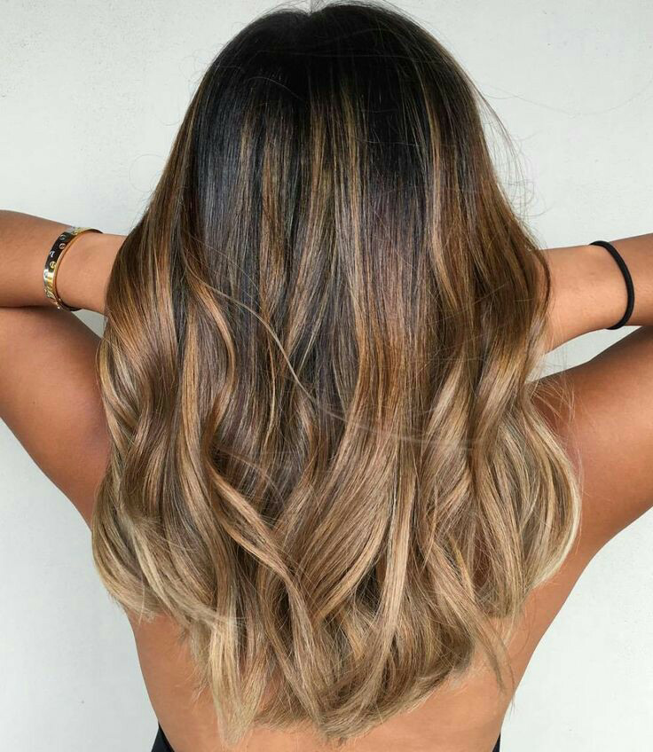 likeaboss-Hair color ideas for Indian skintone