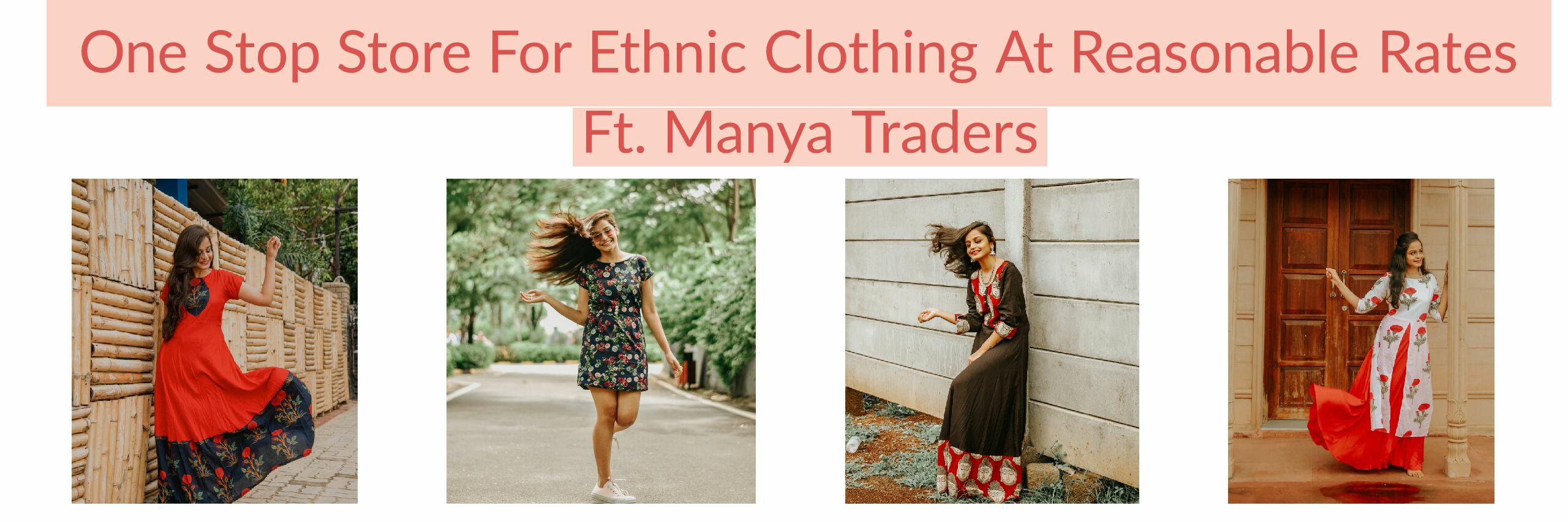 One Stop Store for Ethnic Wear At Reasonable Rates - Manya Traders image