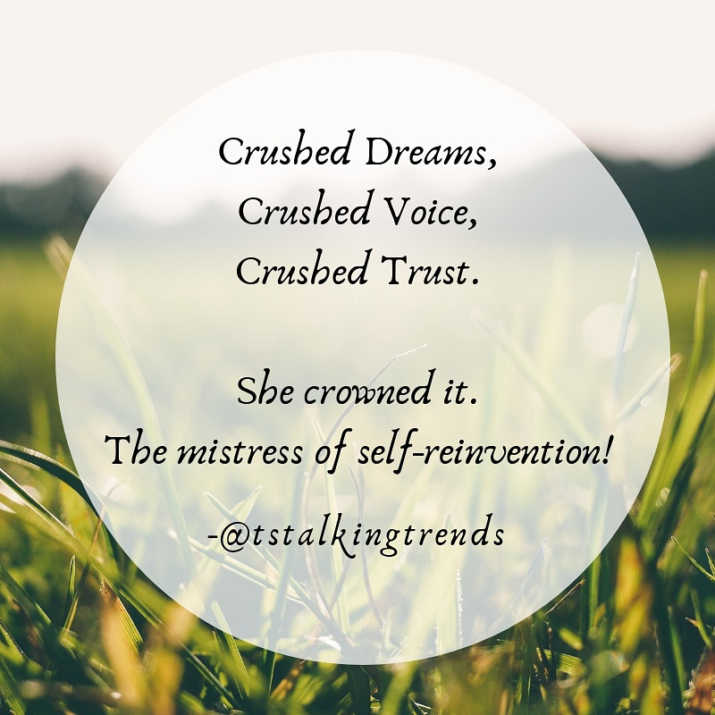 Quote: Crown the crushed. image