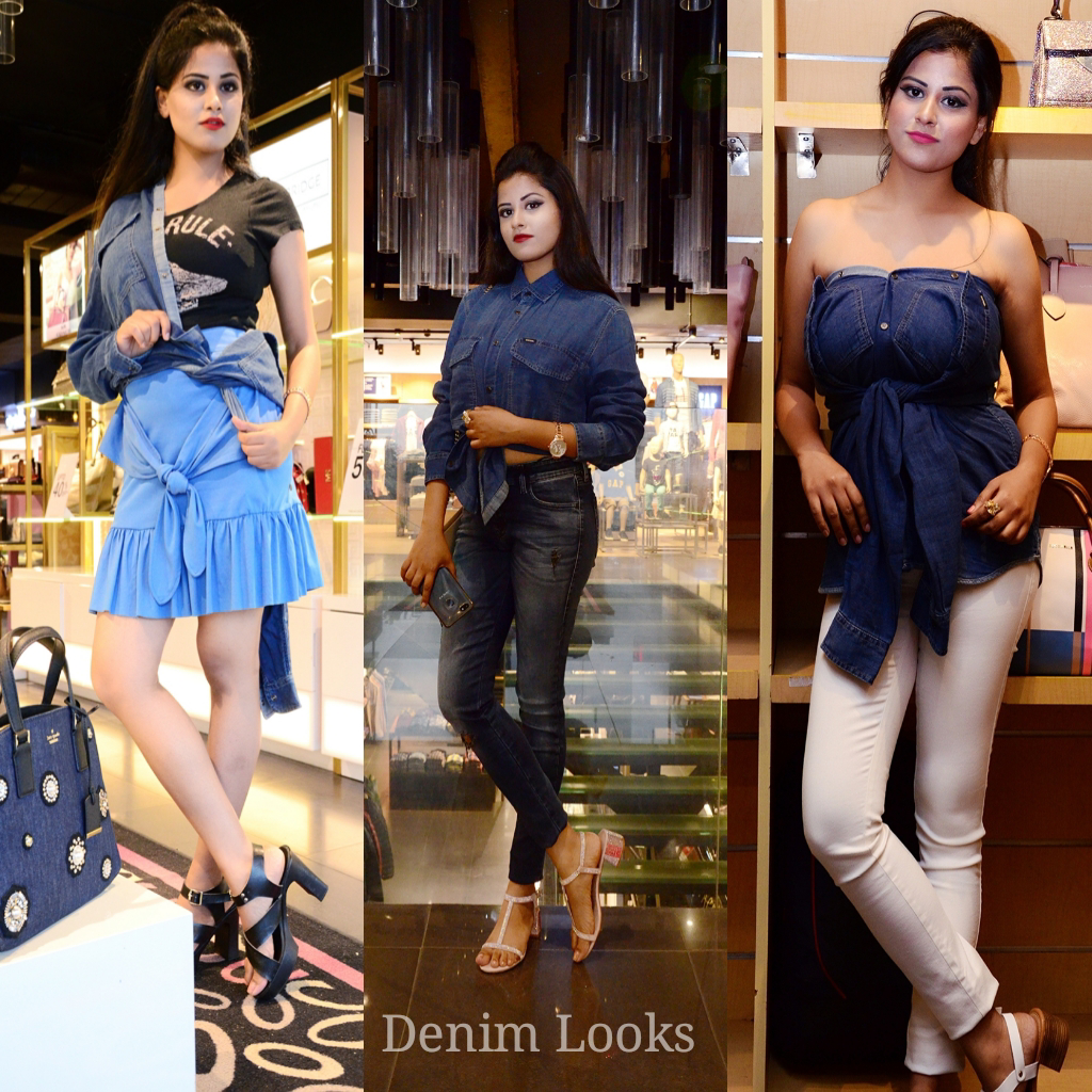 Thevoguegirl_-One Denim shirt and different styles!